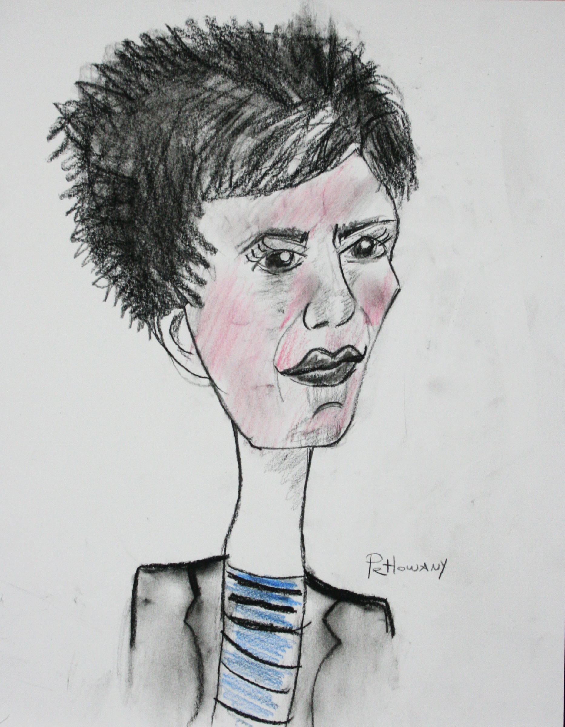Paula Petlowany did this caricature.