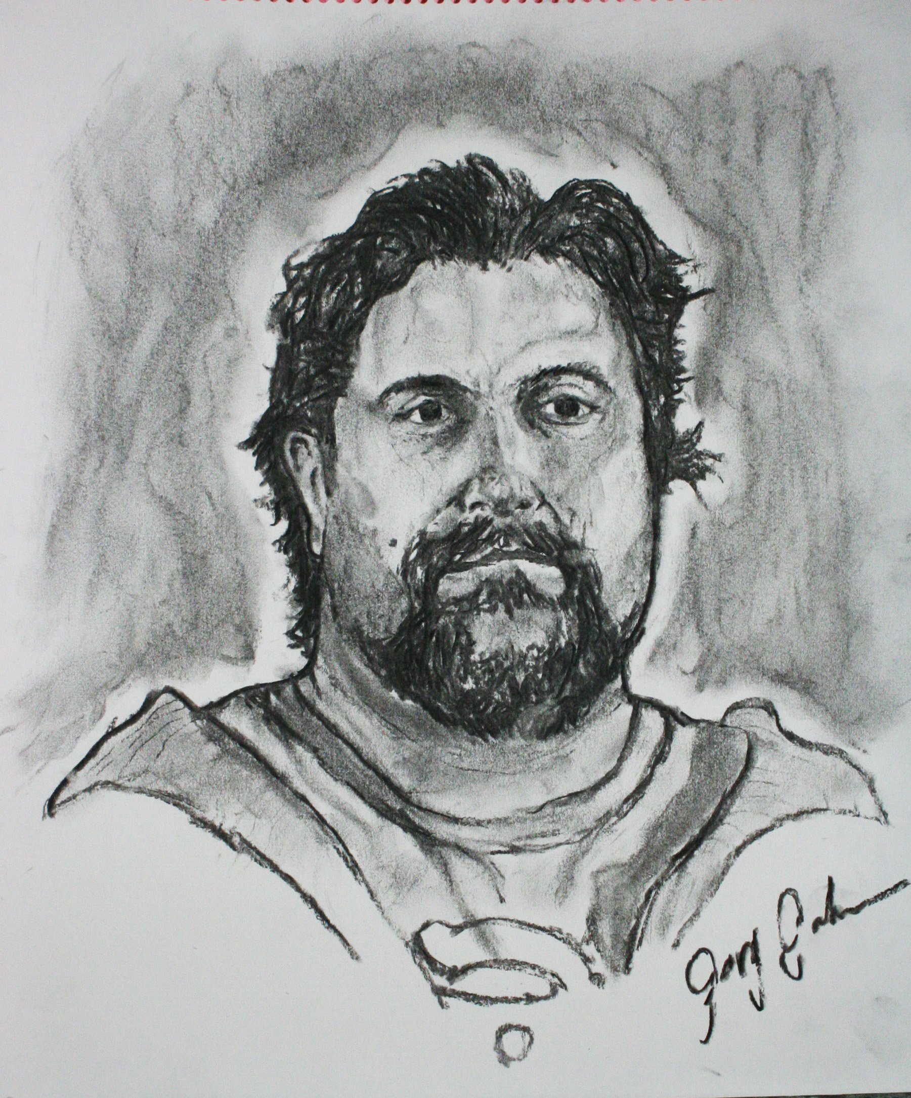 Gary Galehouse did this 3-hour drawing.
