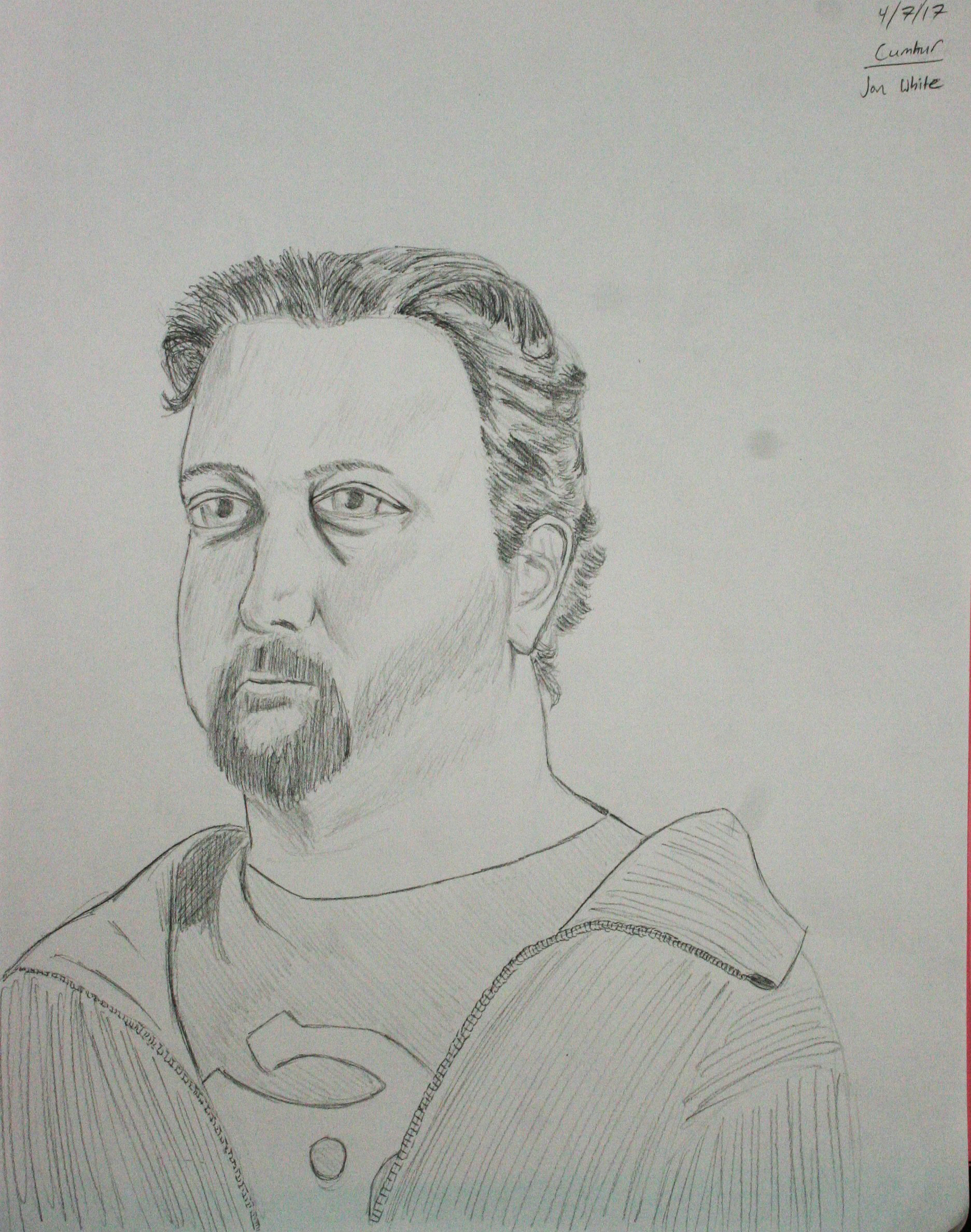 Jonathan White did this 2-hour drawing.