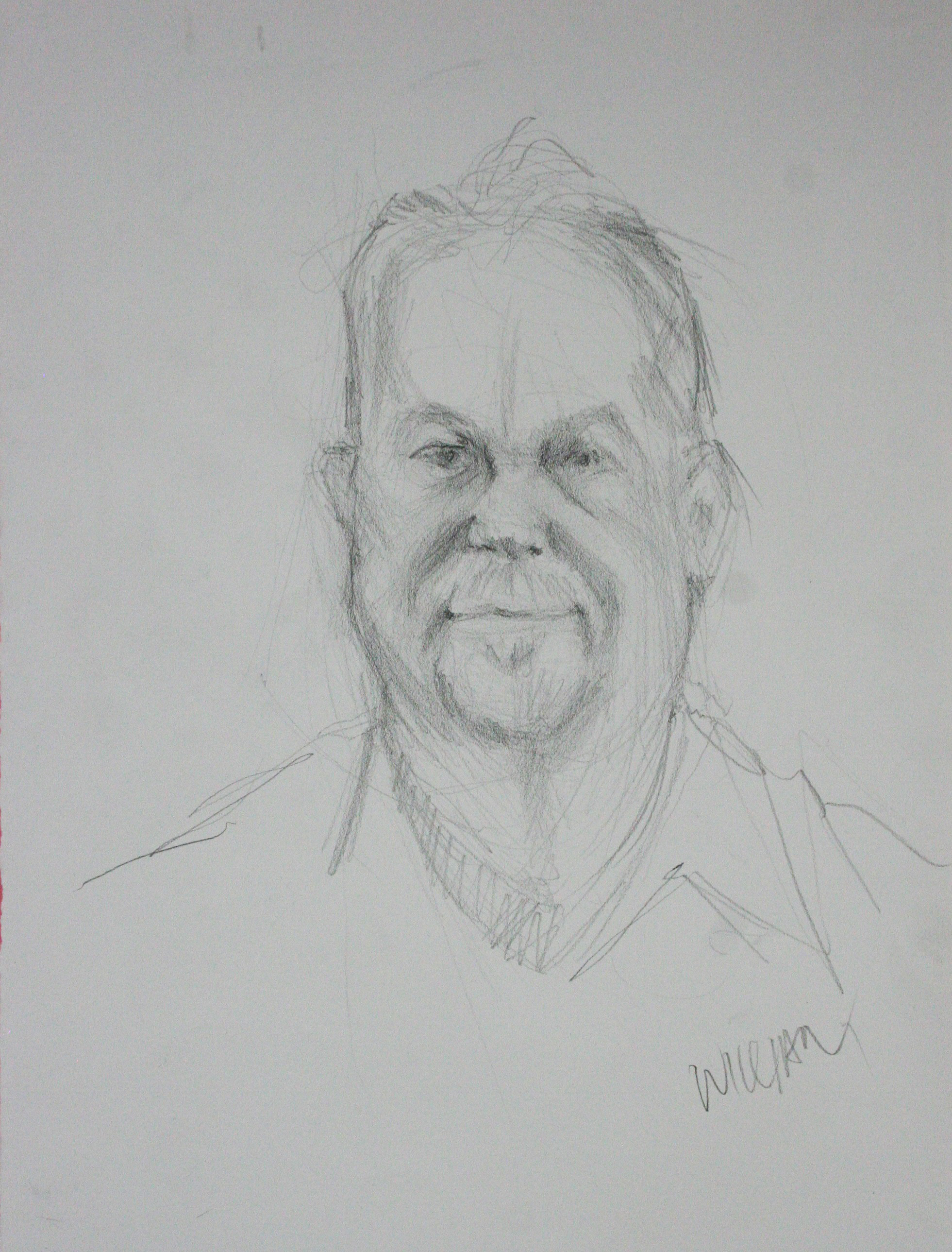 William Leddy did this half hour sketch.
