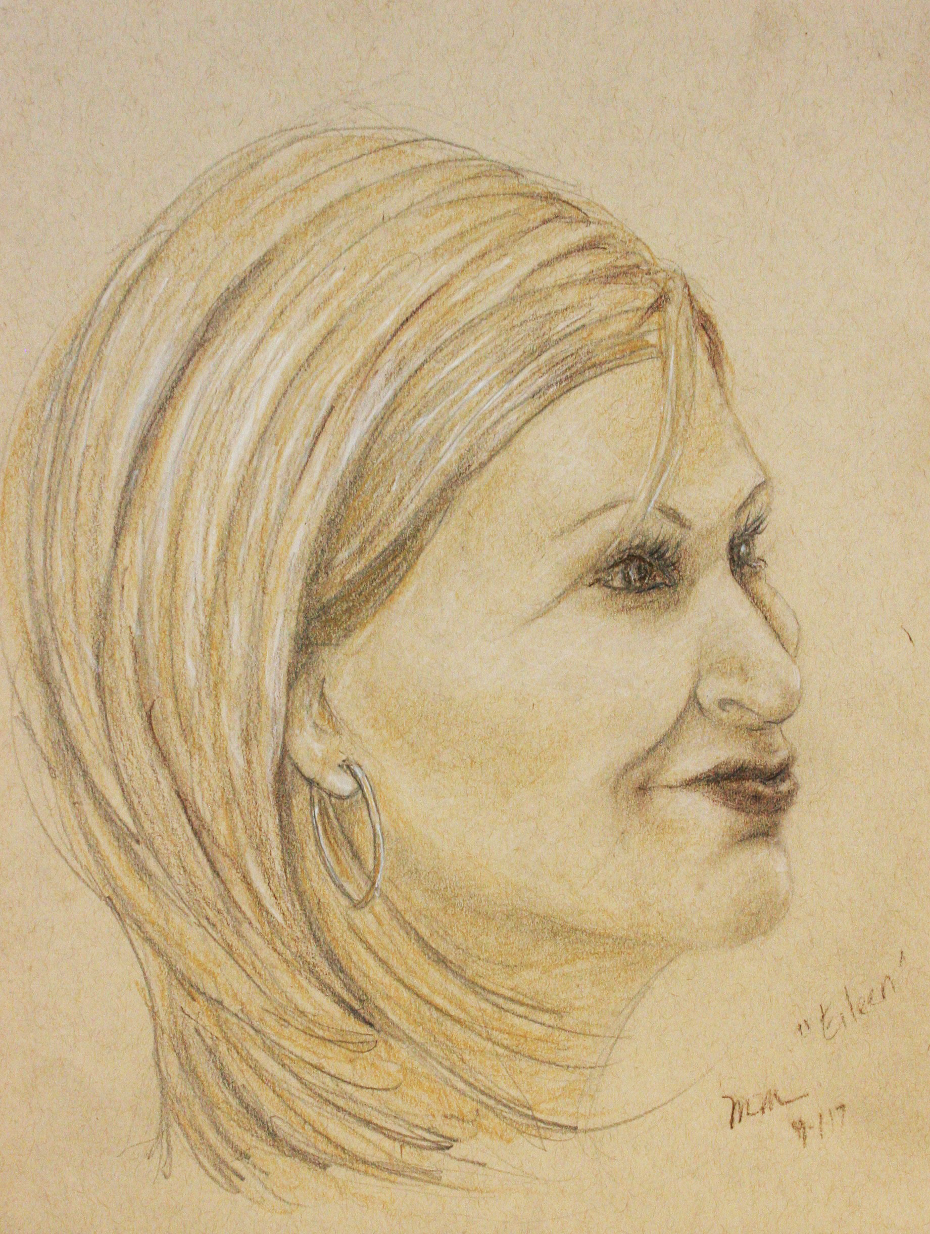 Mary Mylett did this hour drawing.
