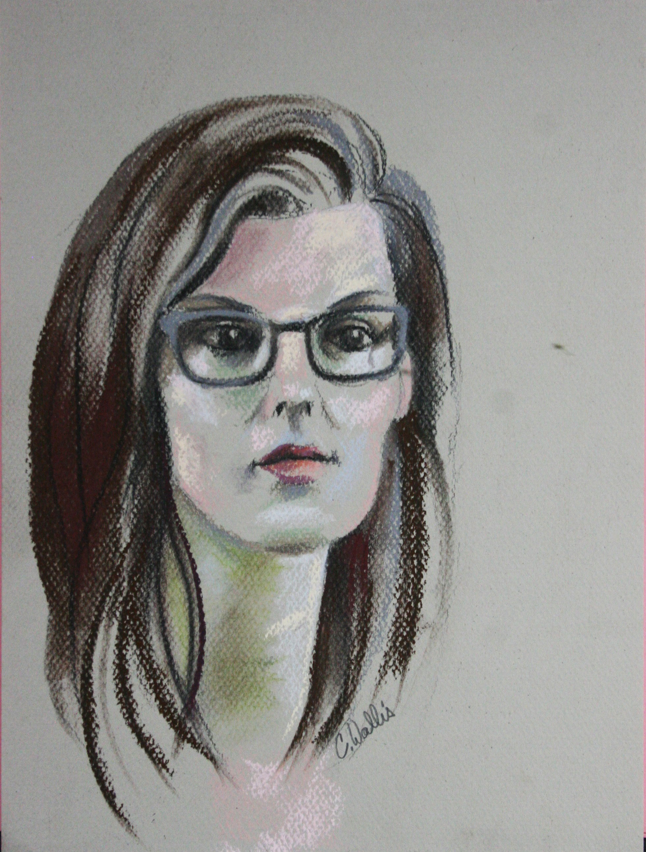 Christine Wallis did this hour drawing.