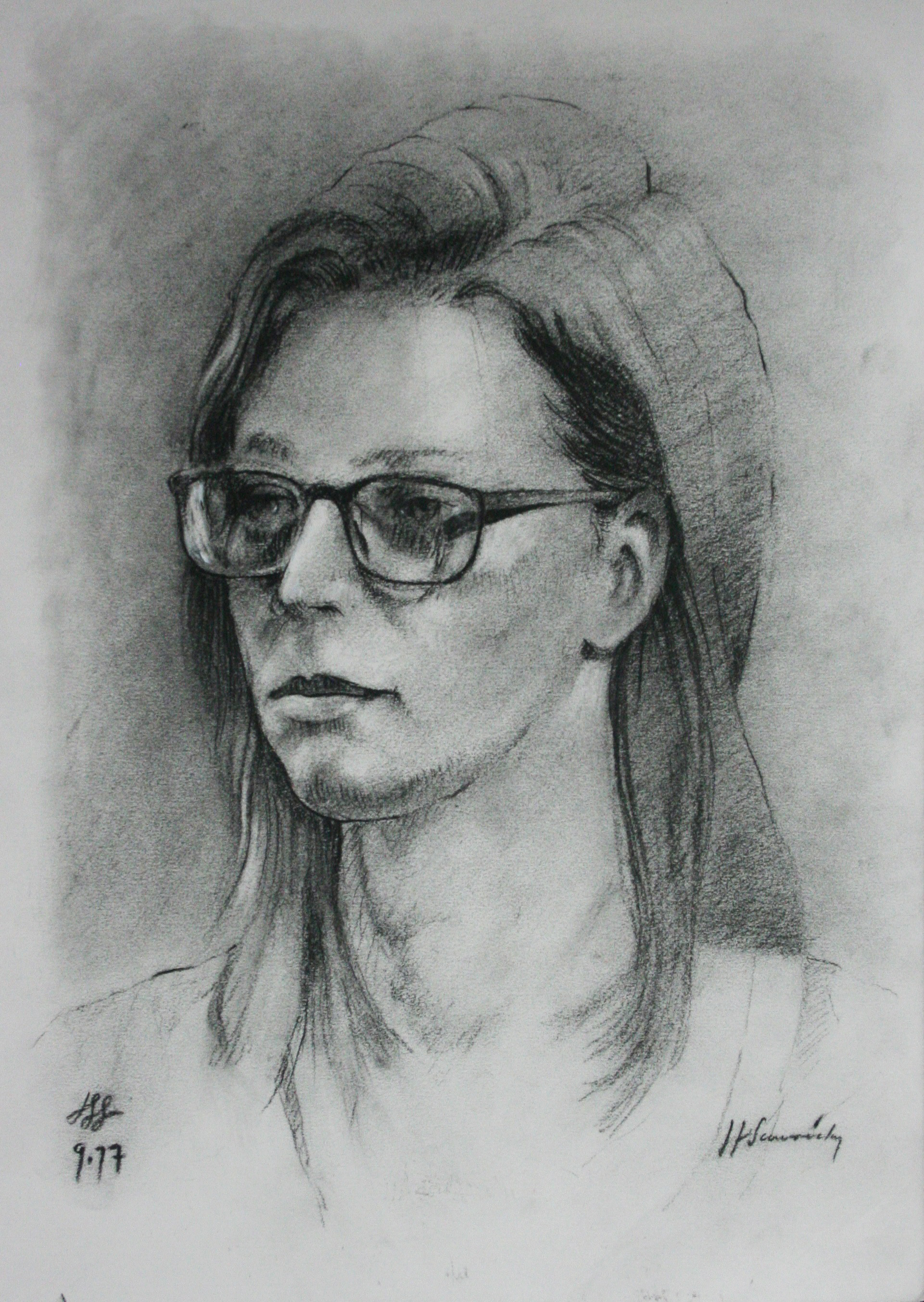 John Scavnicky did this 3-hour drawing.