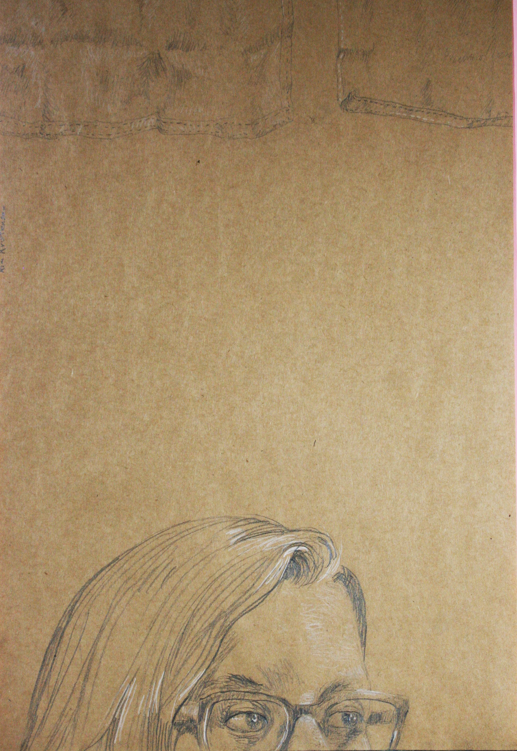 Kim Kristensen did this hour drawing of his daughter.