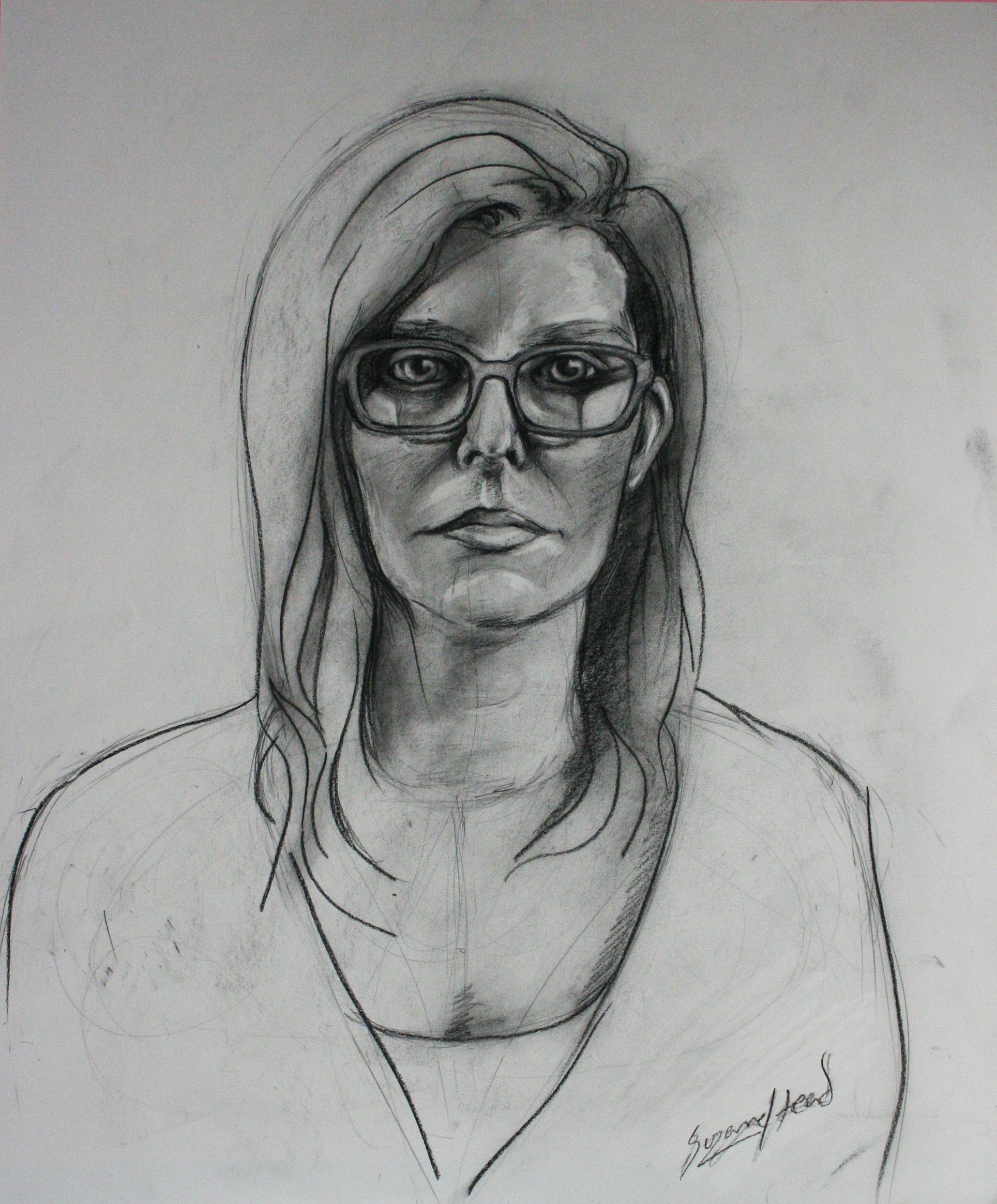Suzanne Head did this two and a half hour drawing.