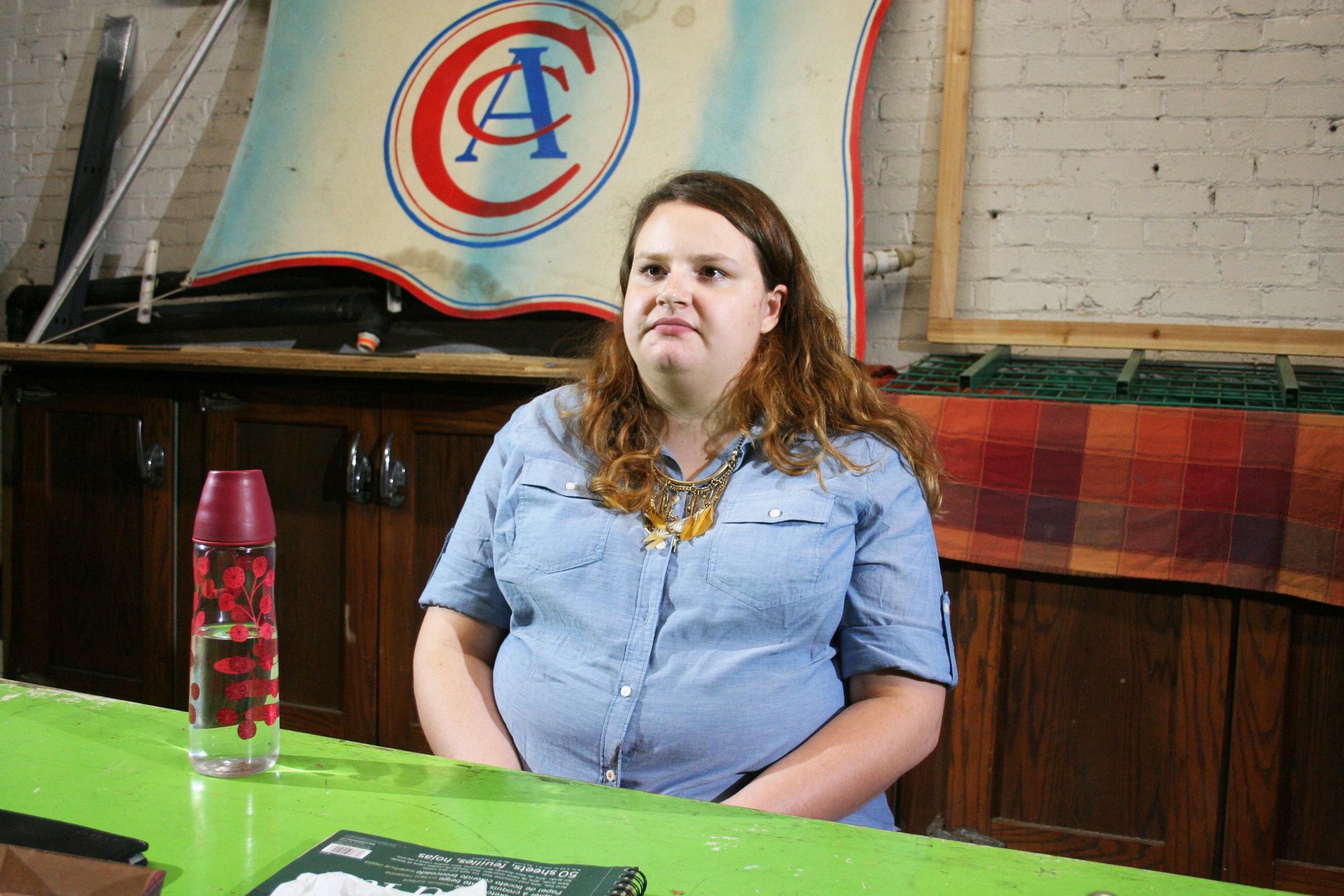 Sara Spevok at Forest City Brewery 9-15-17.jpg