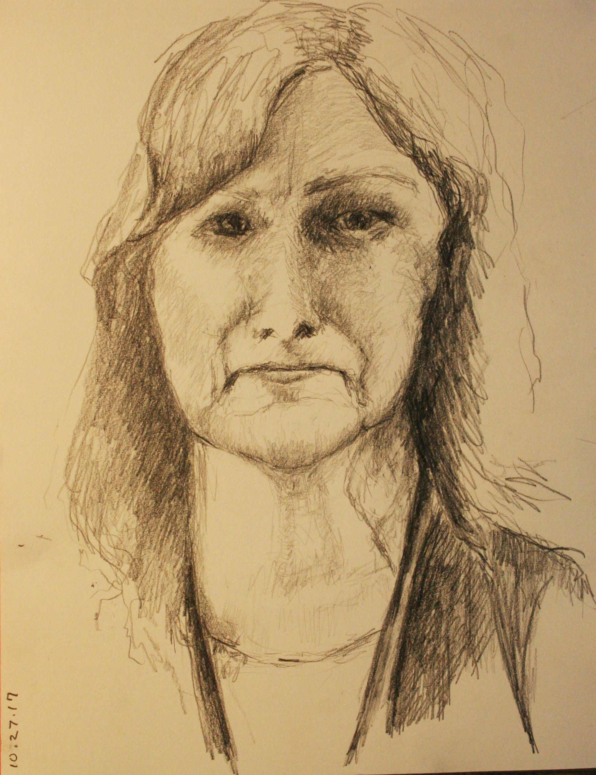 A woman named Ann? did this drawing.