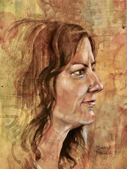 Nancy Lick did this watercolor.