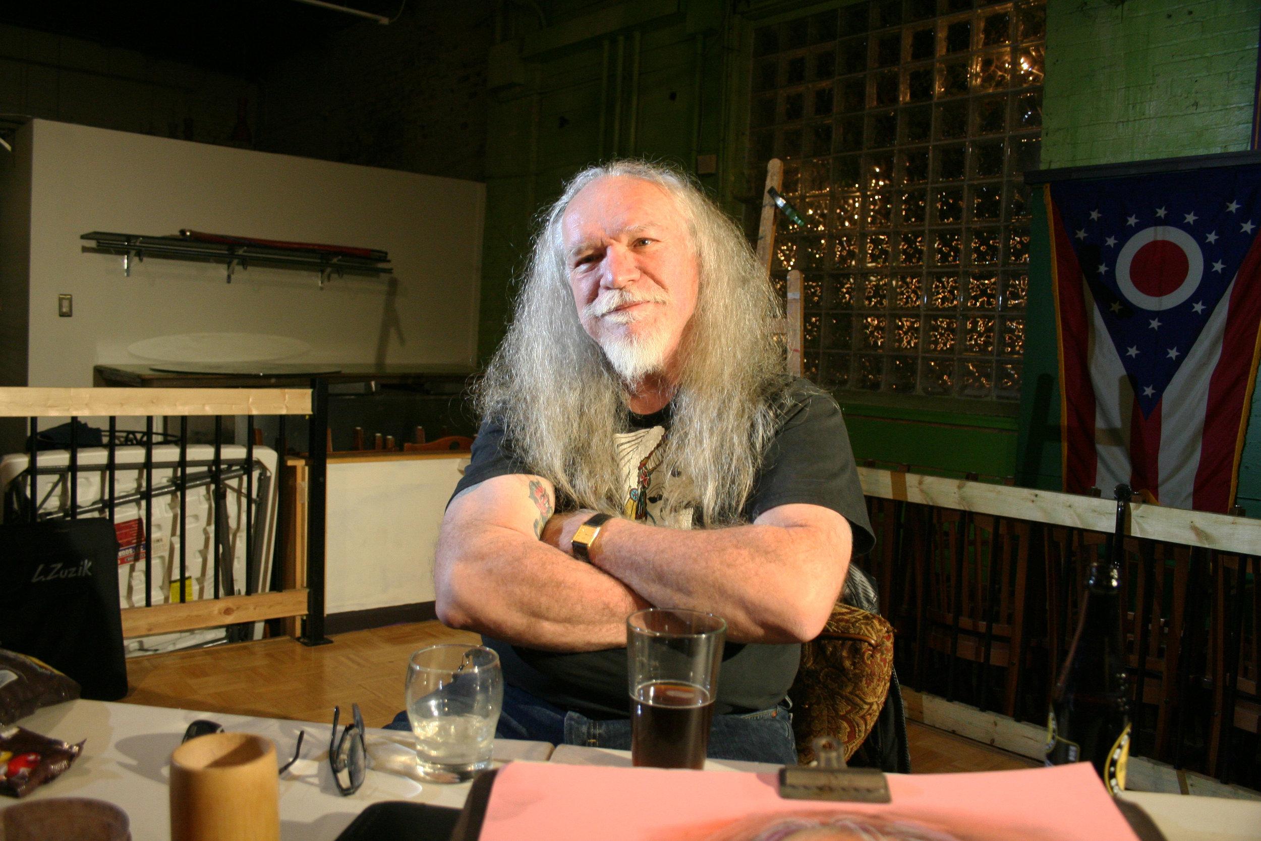 Bill Snodgrass at Forest City Brewery 11-10-17.JPG