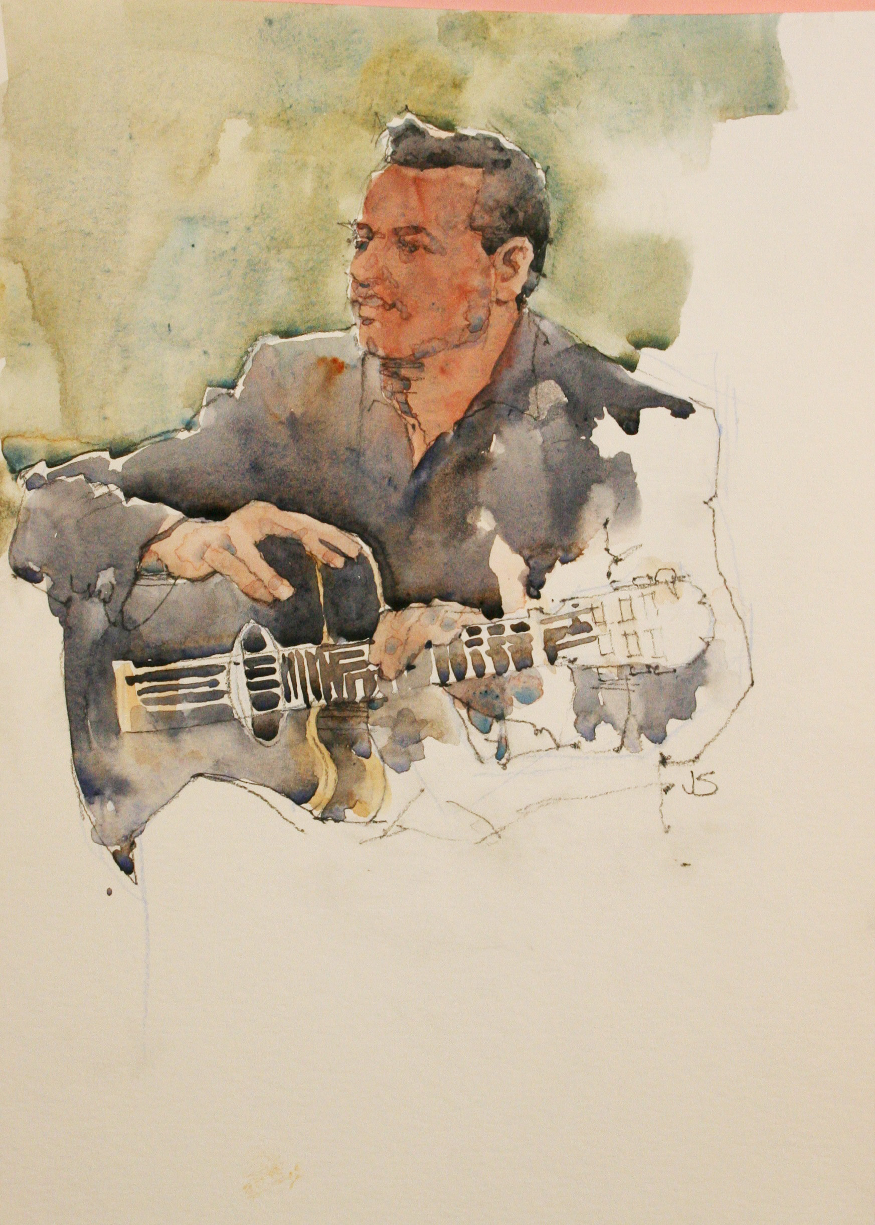 Jeff Suntala did this watercolor.