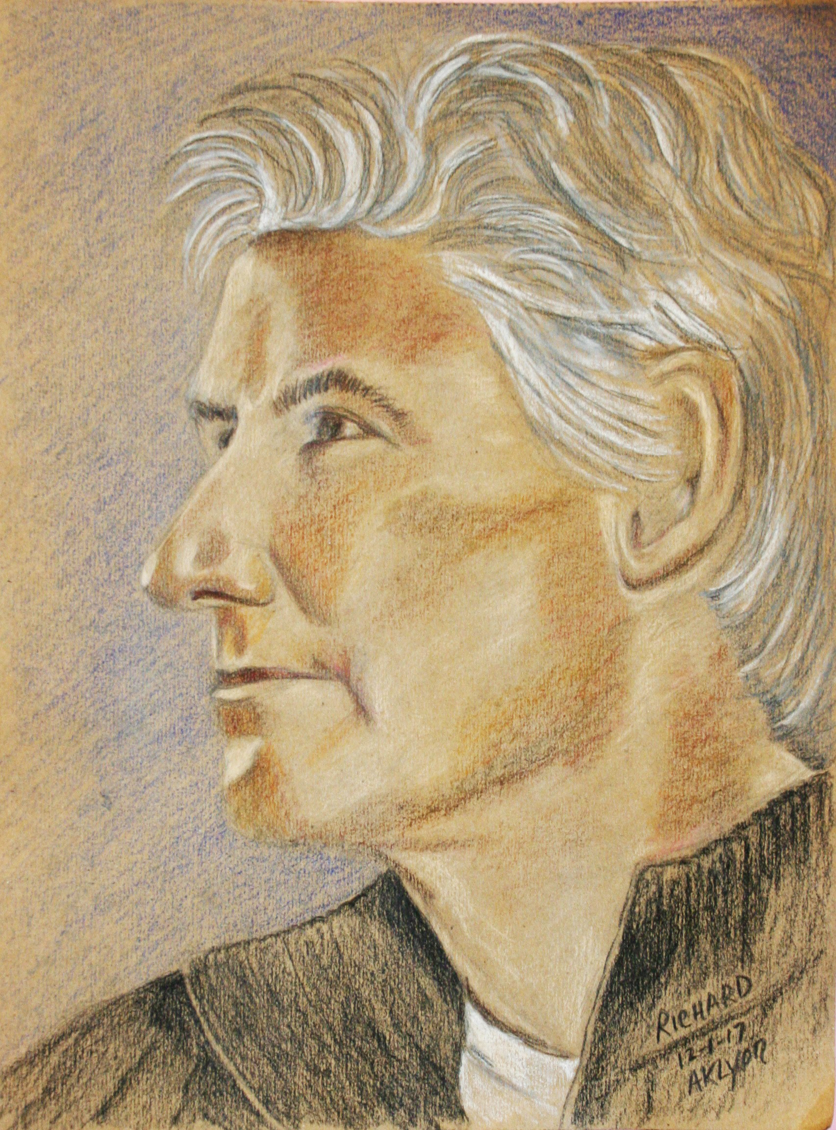 Anne Lyon did this drawing.