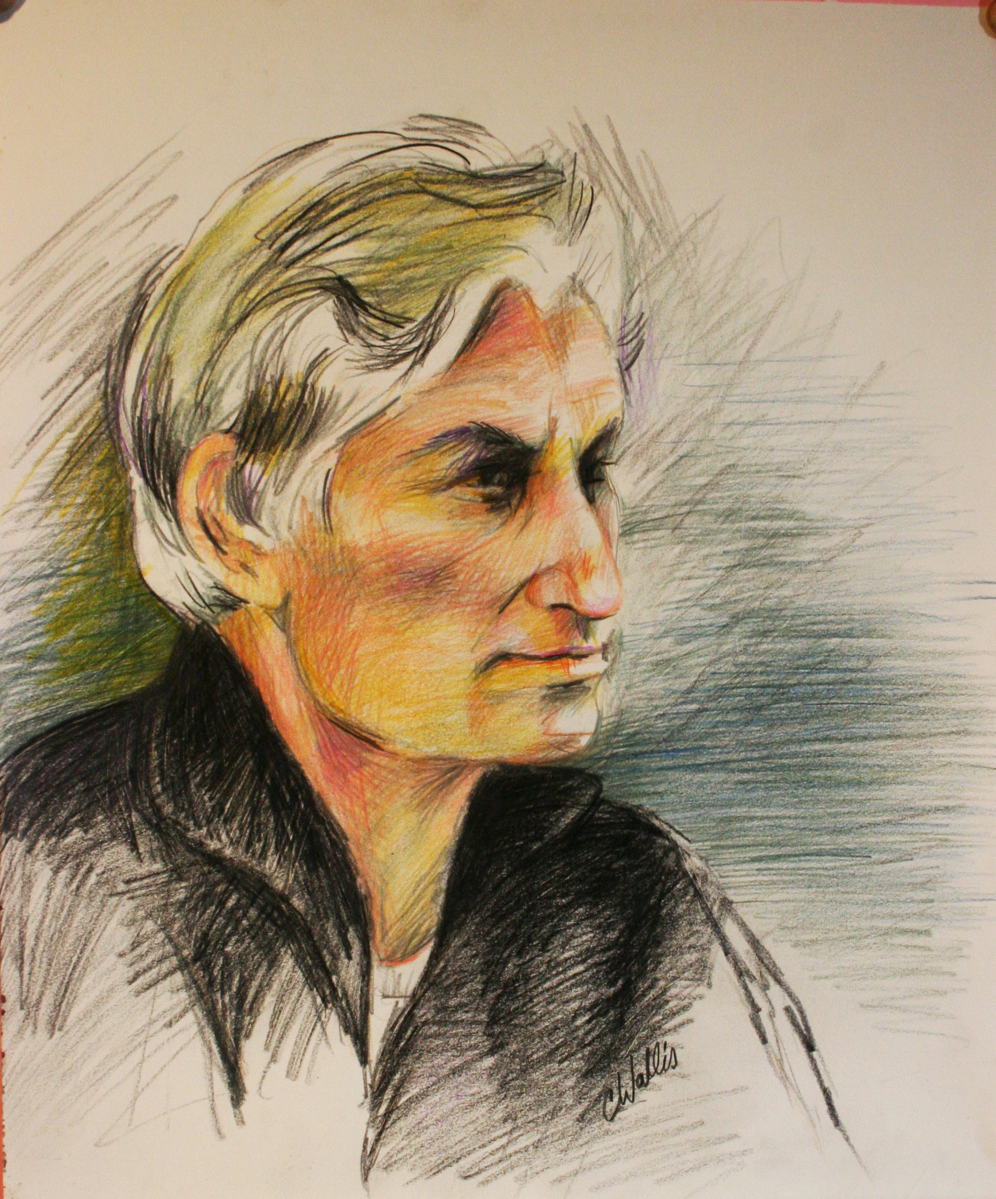 Christine Wallis did this drawing.