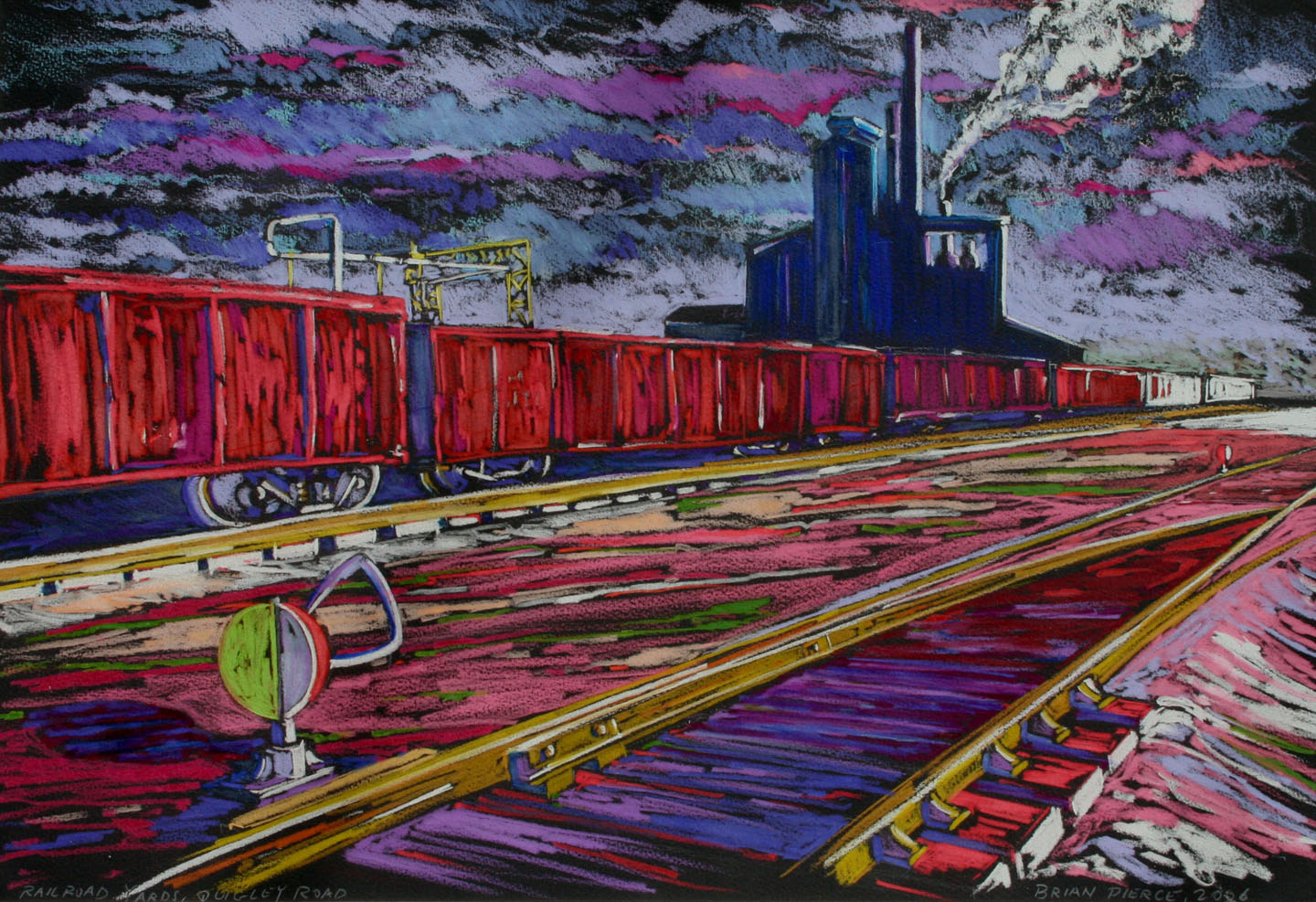 """""""Railroad Yards, Quigly Road"""""""