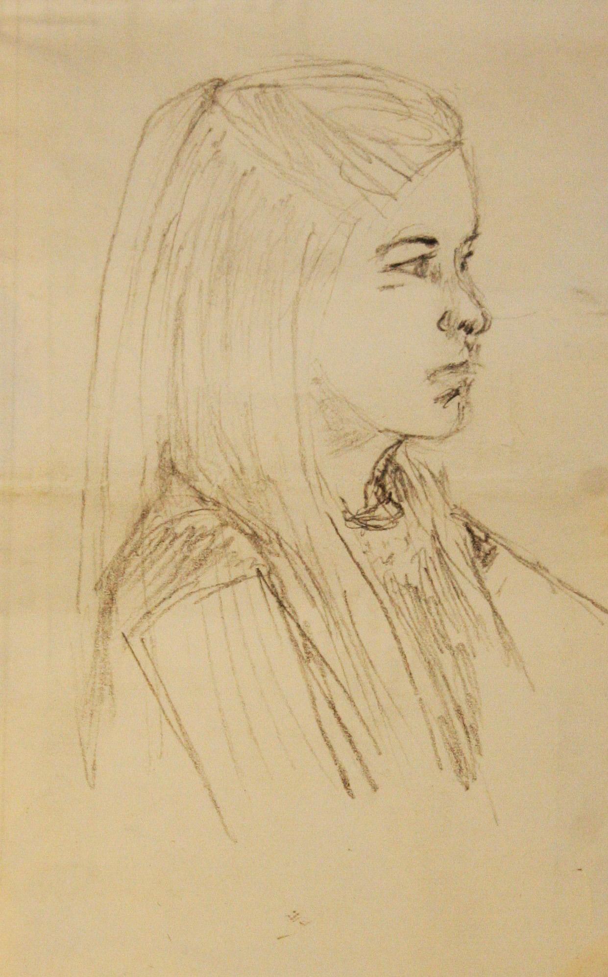 Sarah Morrison did this drawing of her daughter Bella.