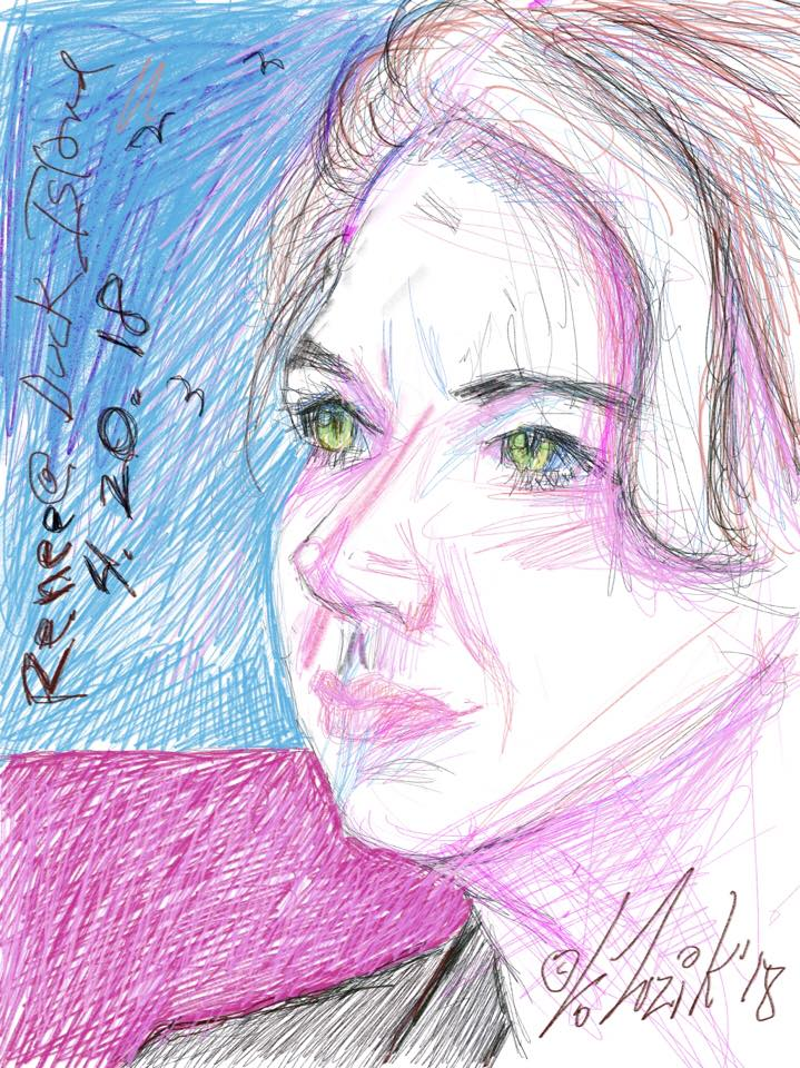 Larry Zuzik did this digital drawing.