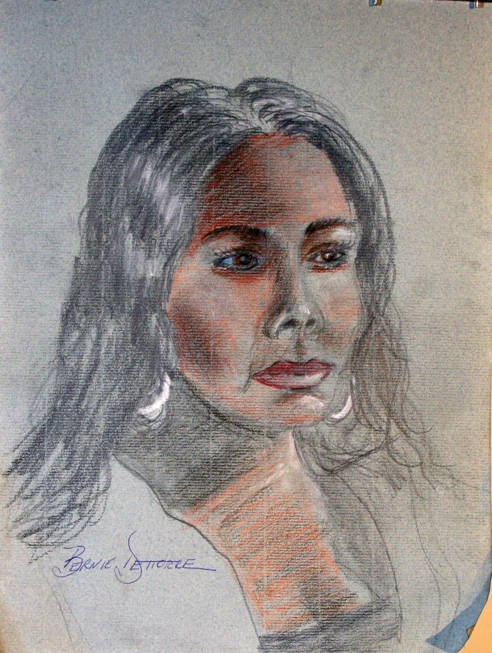 Bernie D'ettorre did this drawing.