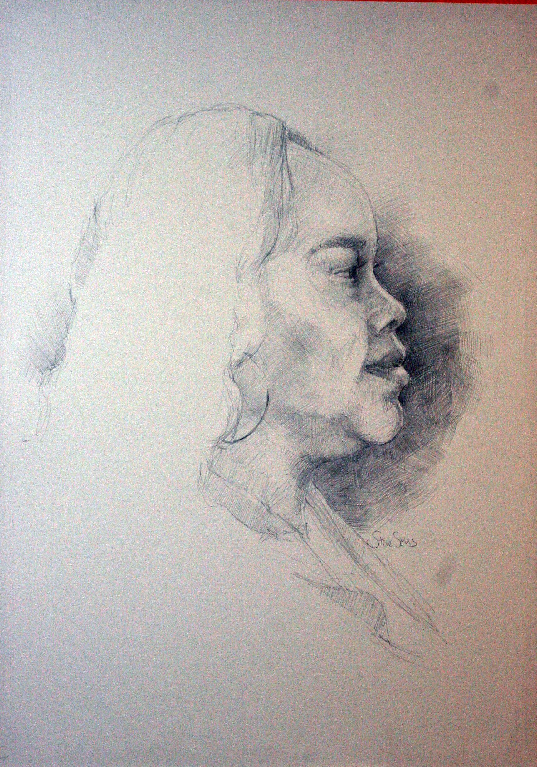 Steve Sens did this profile drawing.