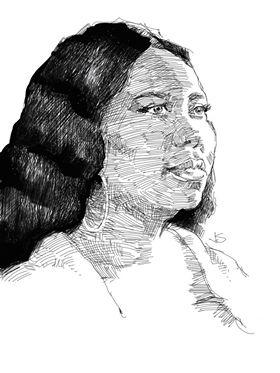 Jeff Suntala did this I-pad drawing.