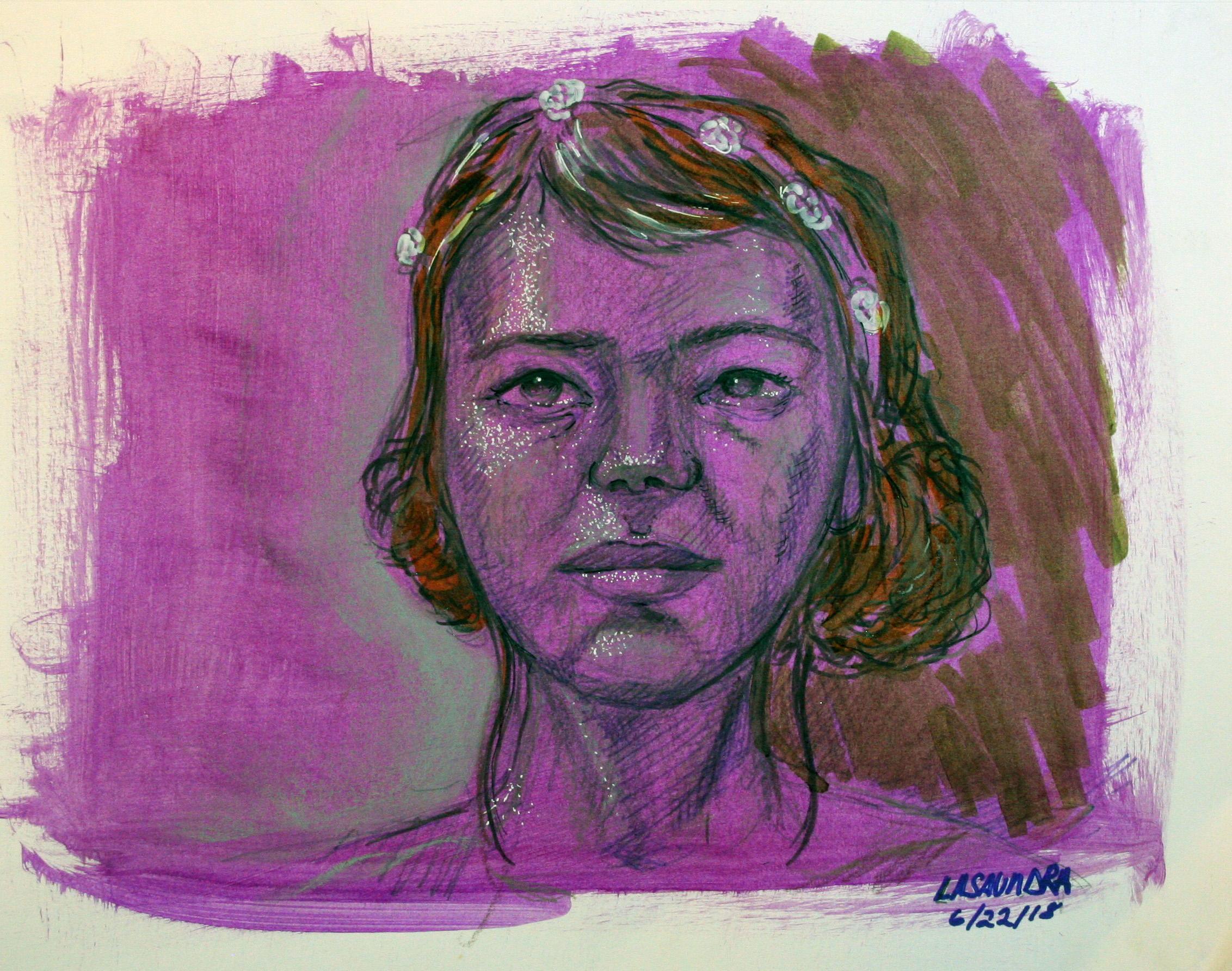 La Saundra Robinson did this drawing.