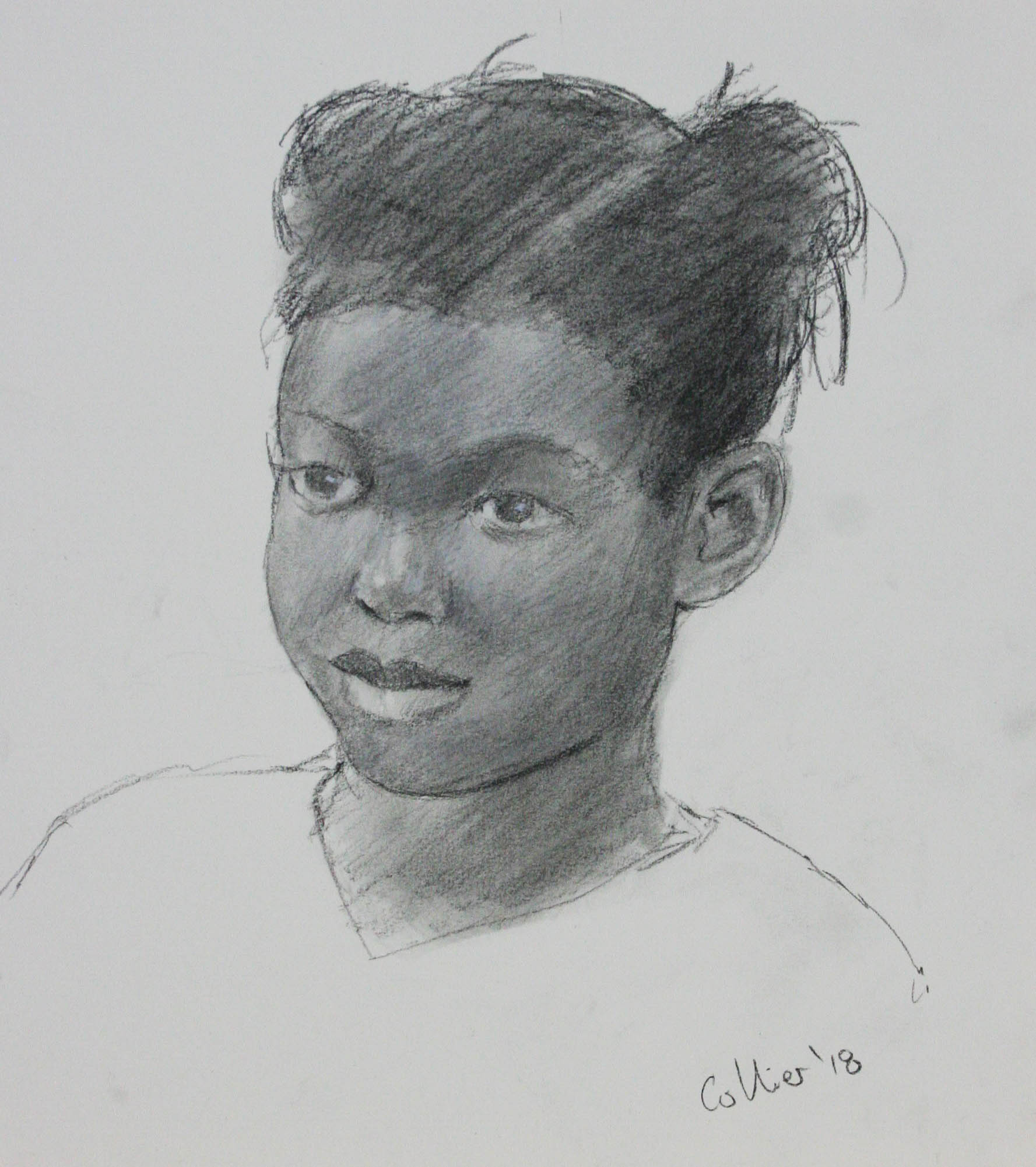 Howard Collier did this sketch of Zora.