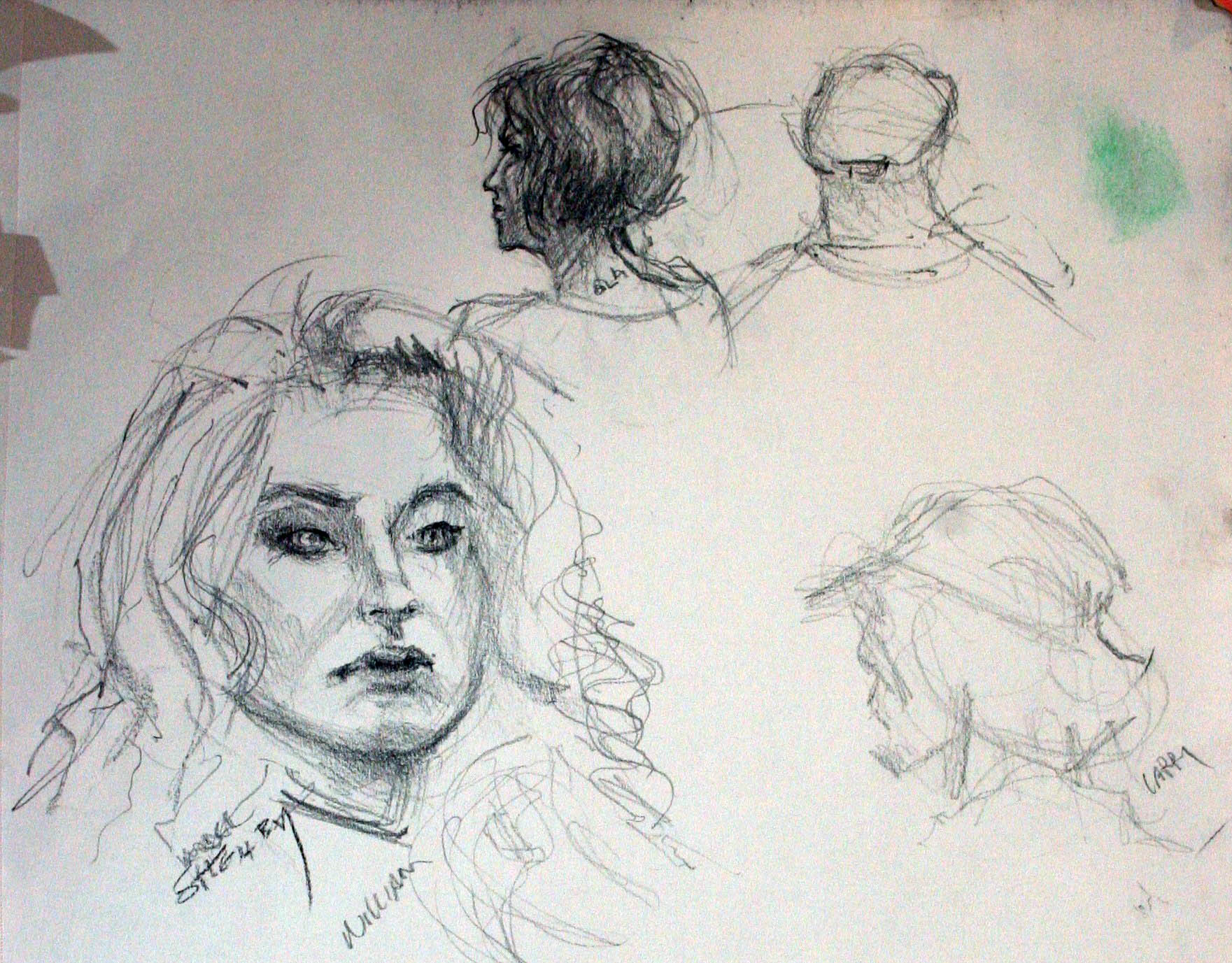 William Leddy did these sketches.