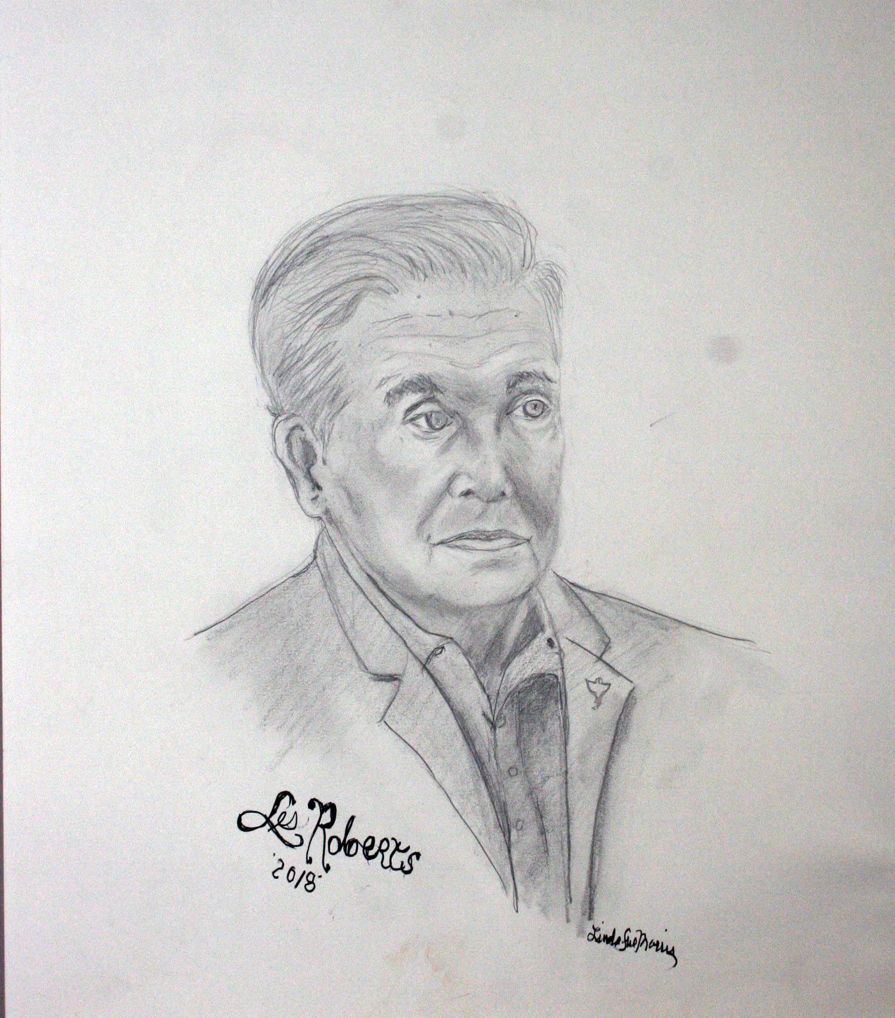 Linda Sue Morris did this drawing.