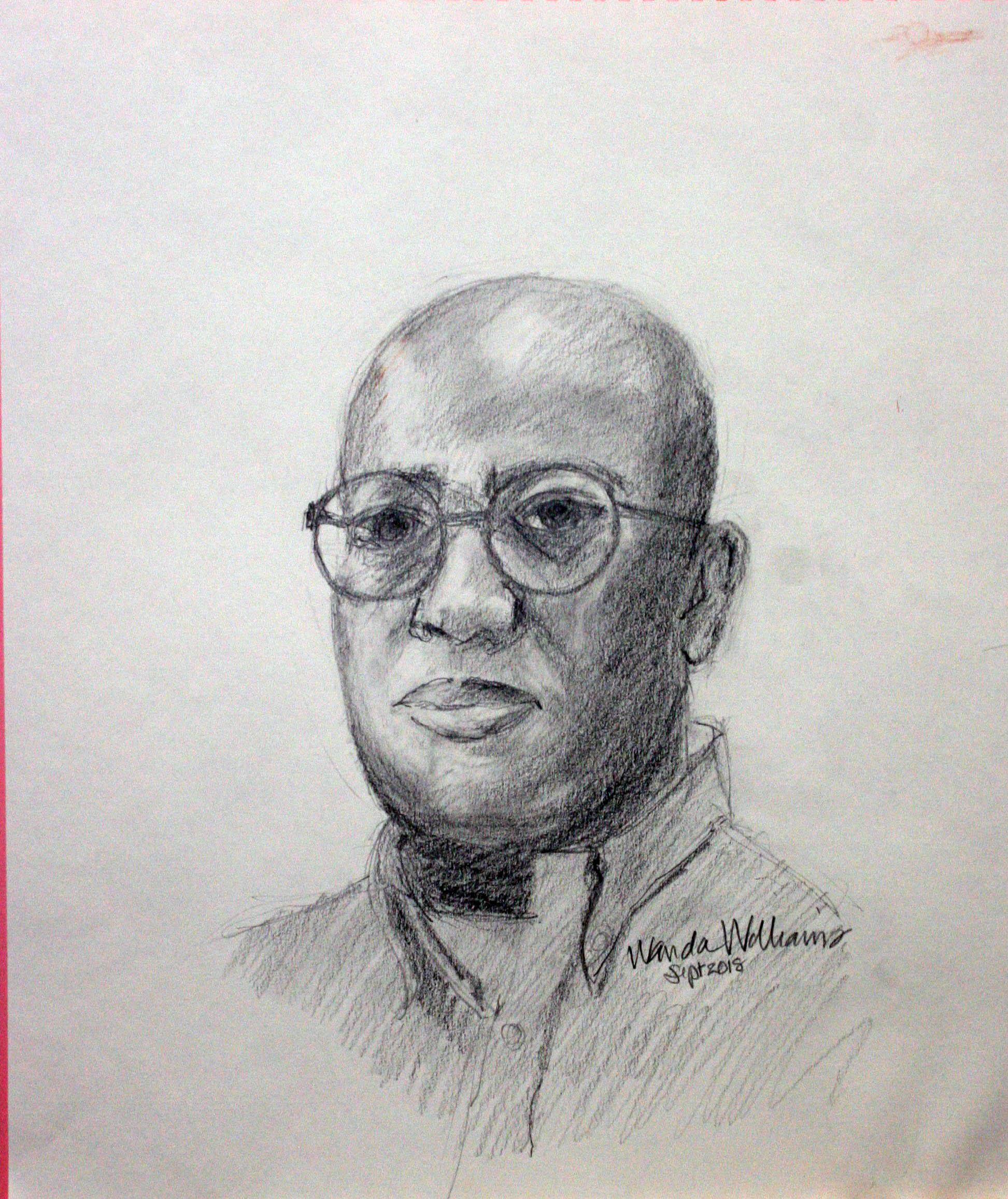 Wanda Williams did this drawing.