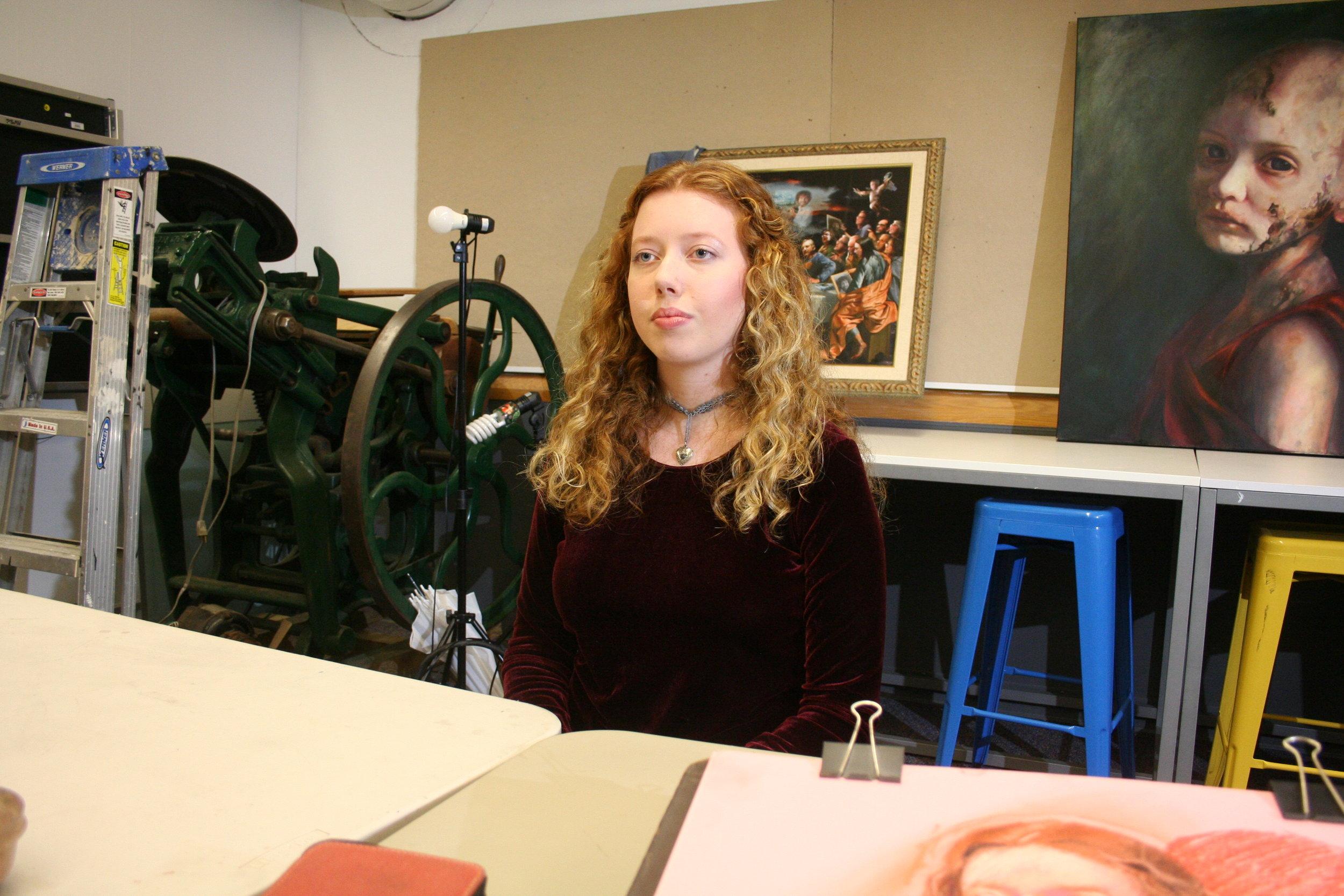 Elaina Laverty at Artful Cleveland 10-5-18.JPG