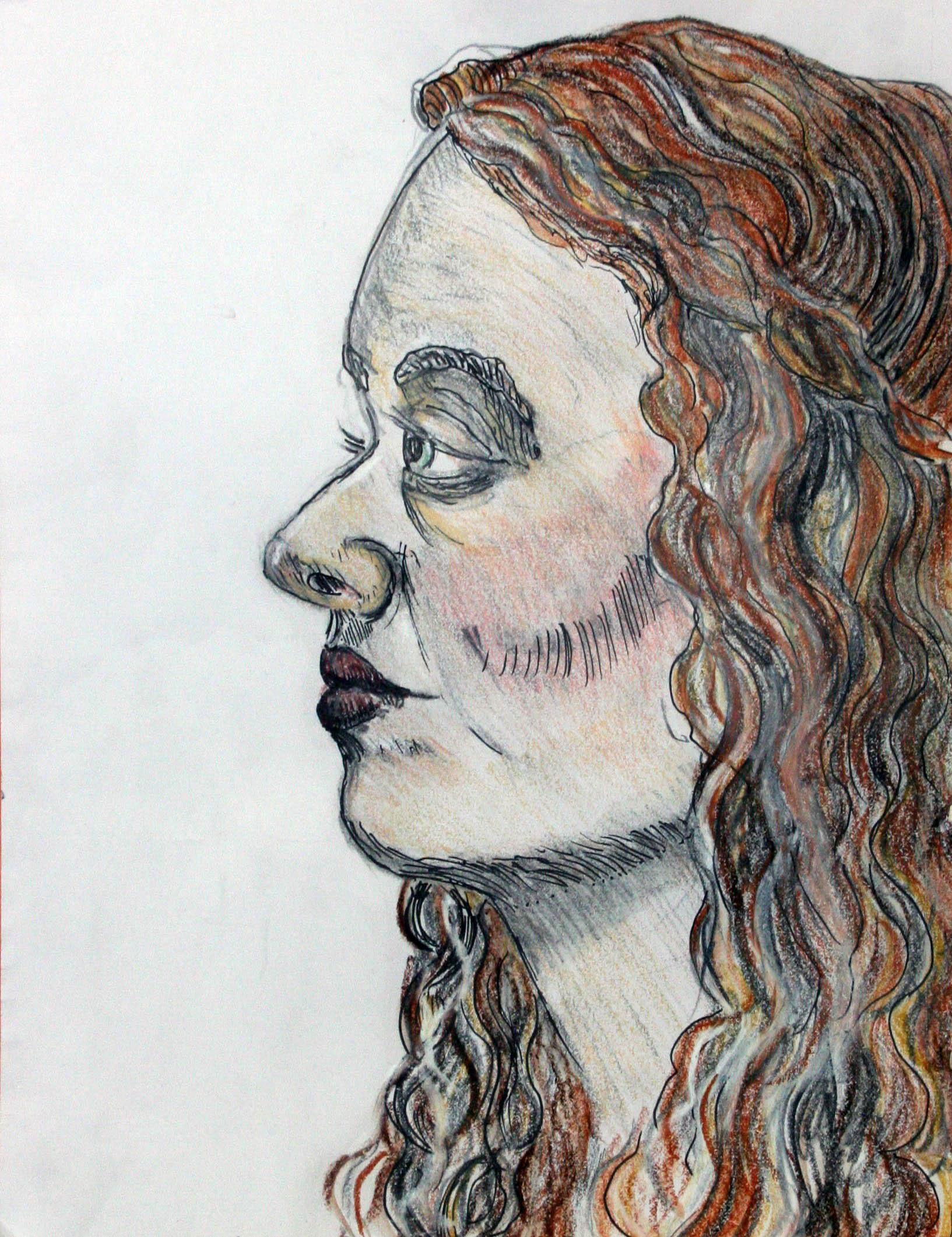 Liz Gulaian did this drawing.