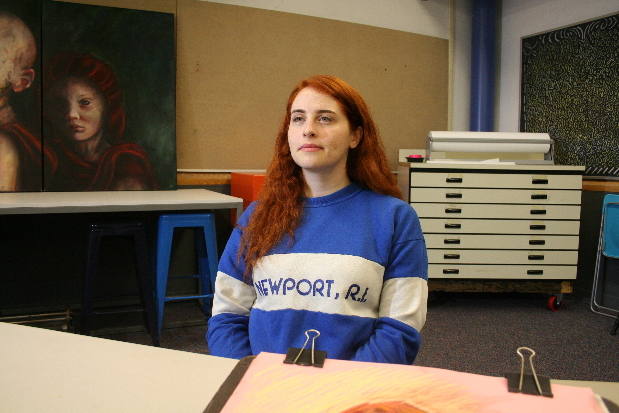 Lauren King at Artful 10-26-18.JPG