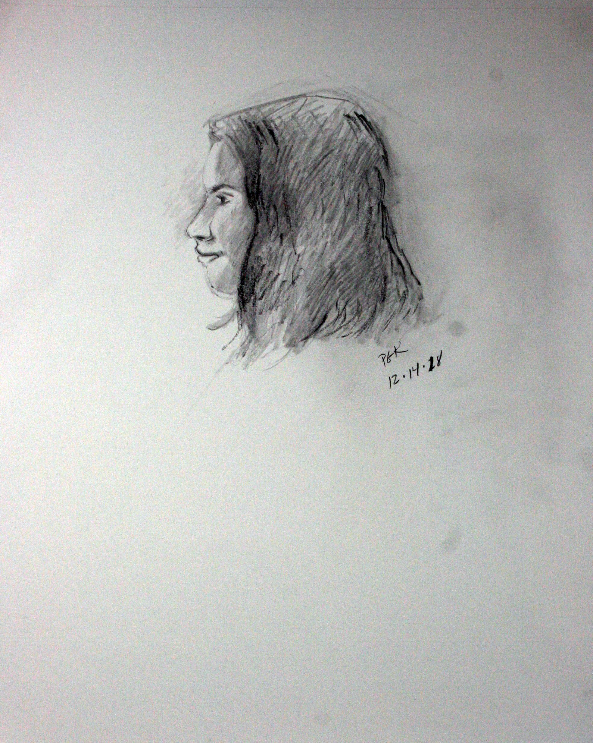 Paulette Krieger did this drawing of Tillie.