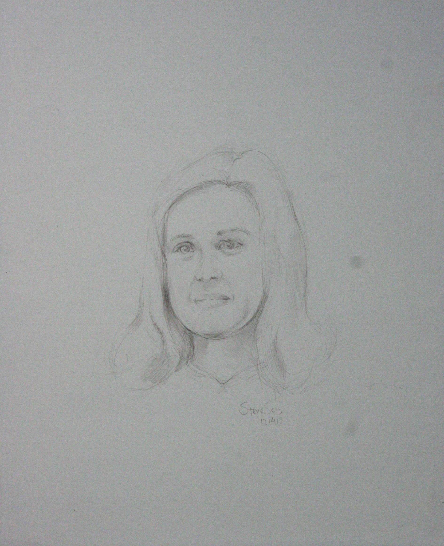Steve Sens did this drawing of Tillie.