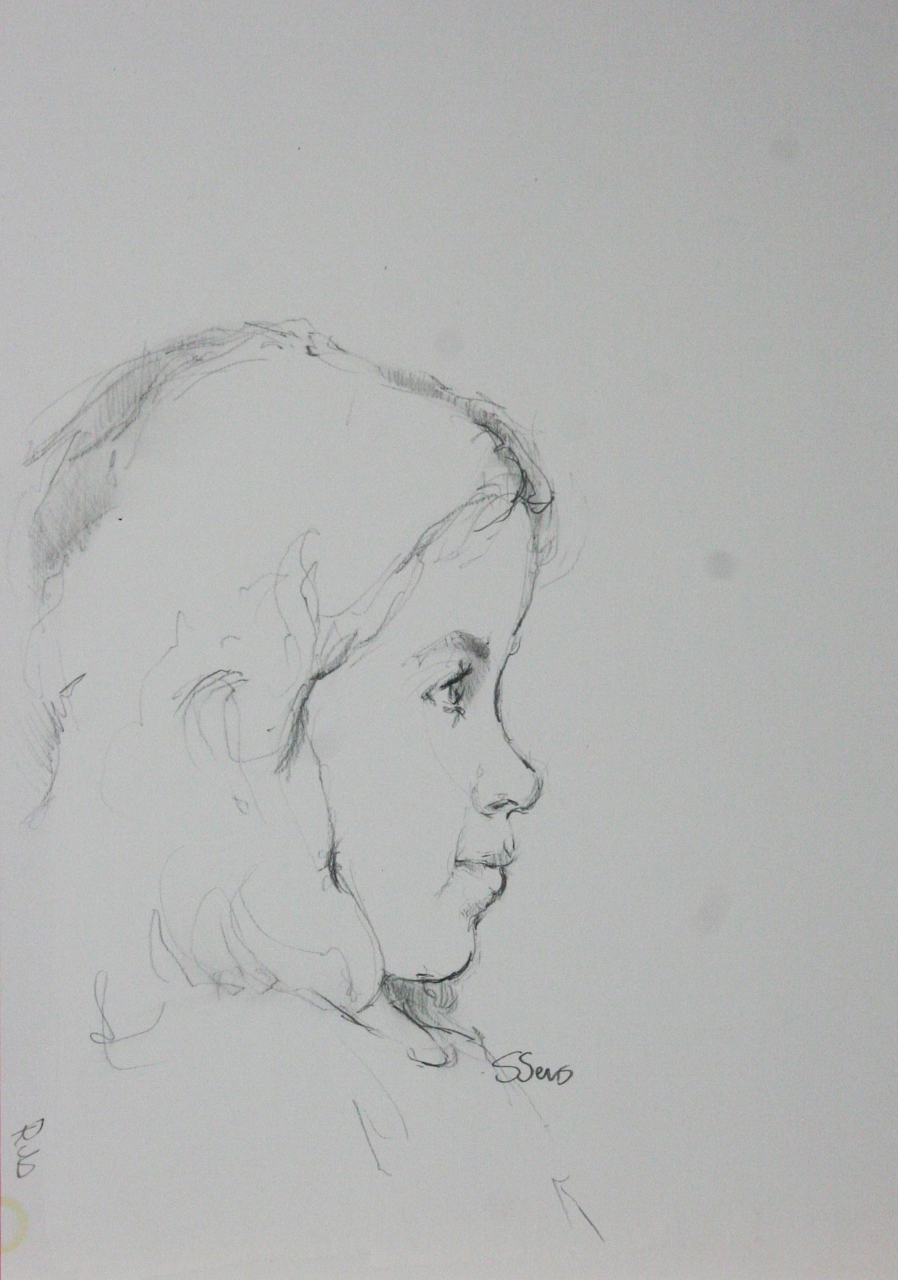 Steve Sens did this drawing of Winnie.