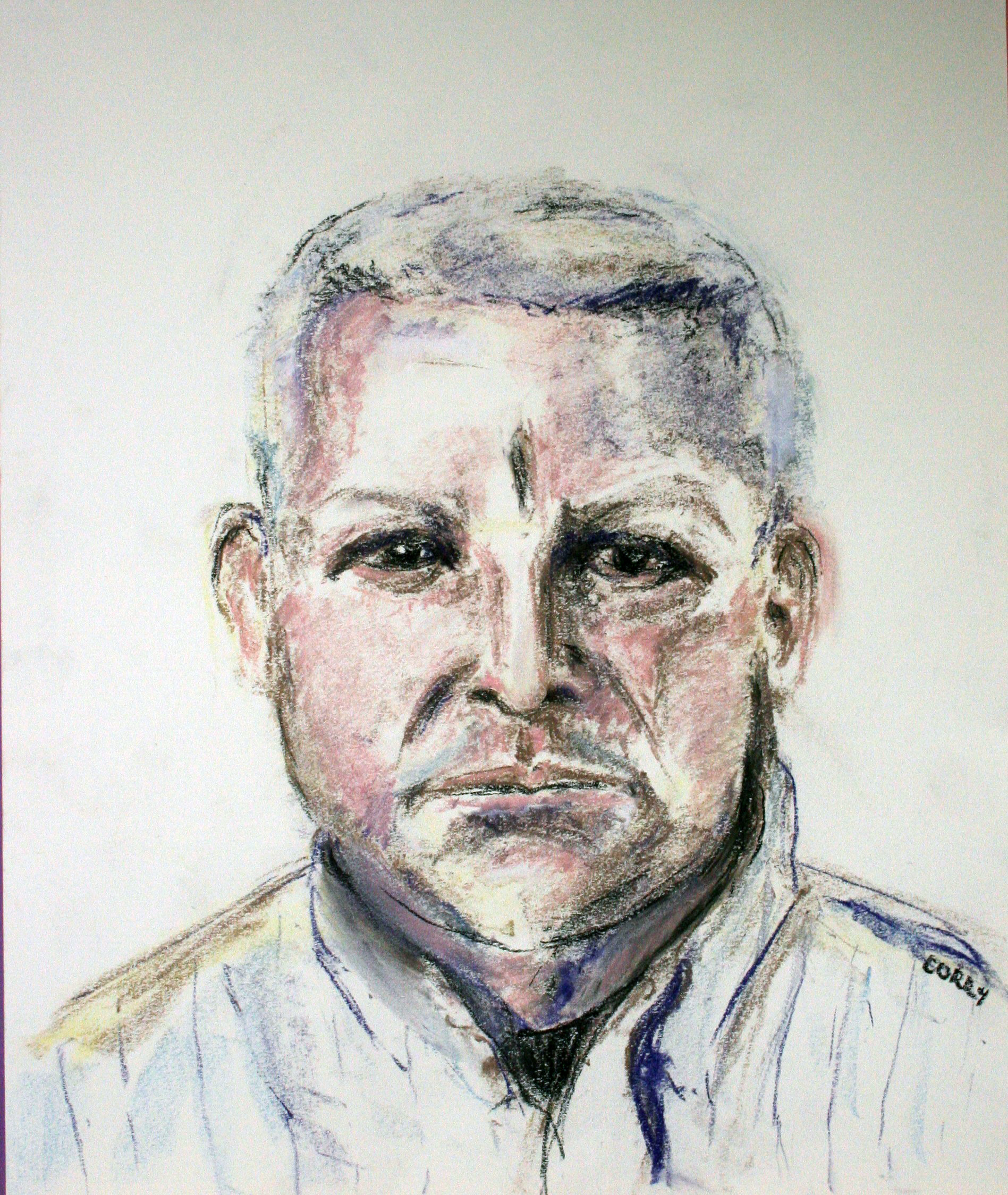 Corry Eisenberg Ogen did this drawing of her brother.