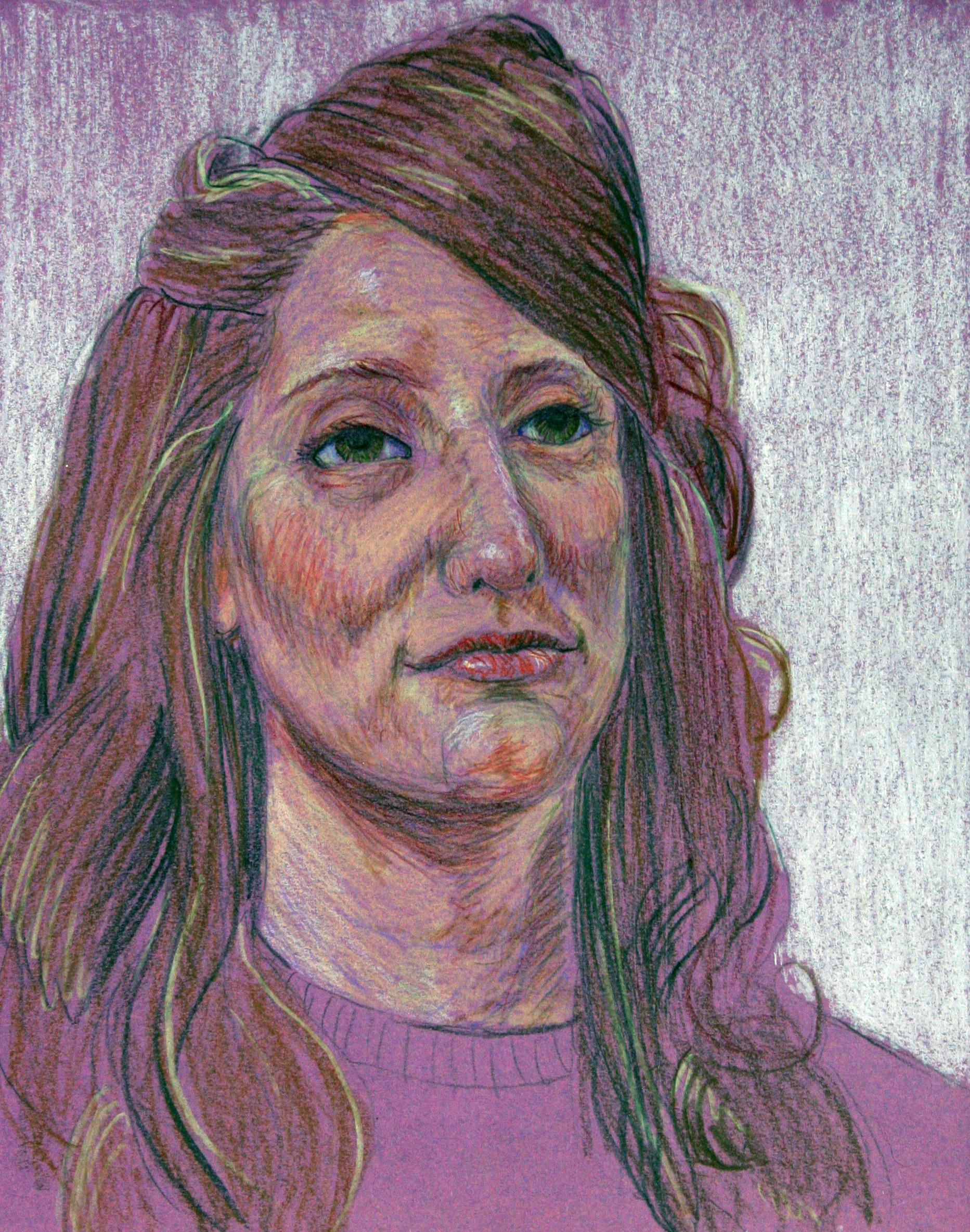 Kim Kristensen did this pastel drawing.