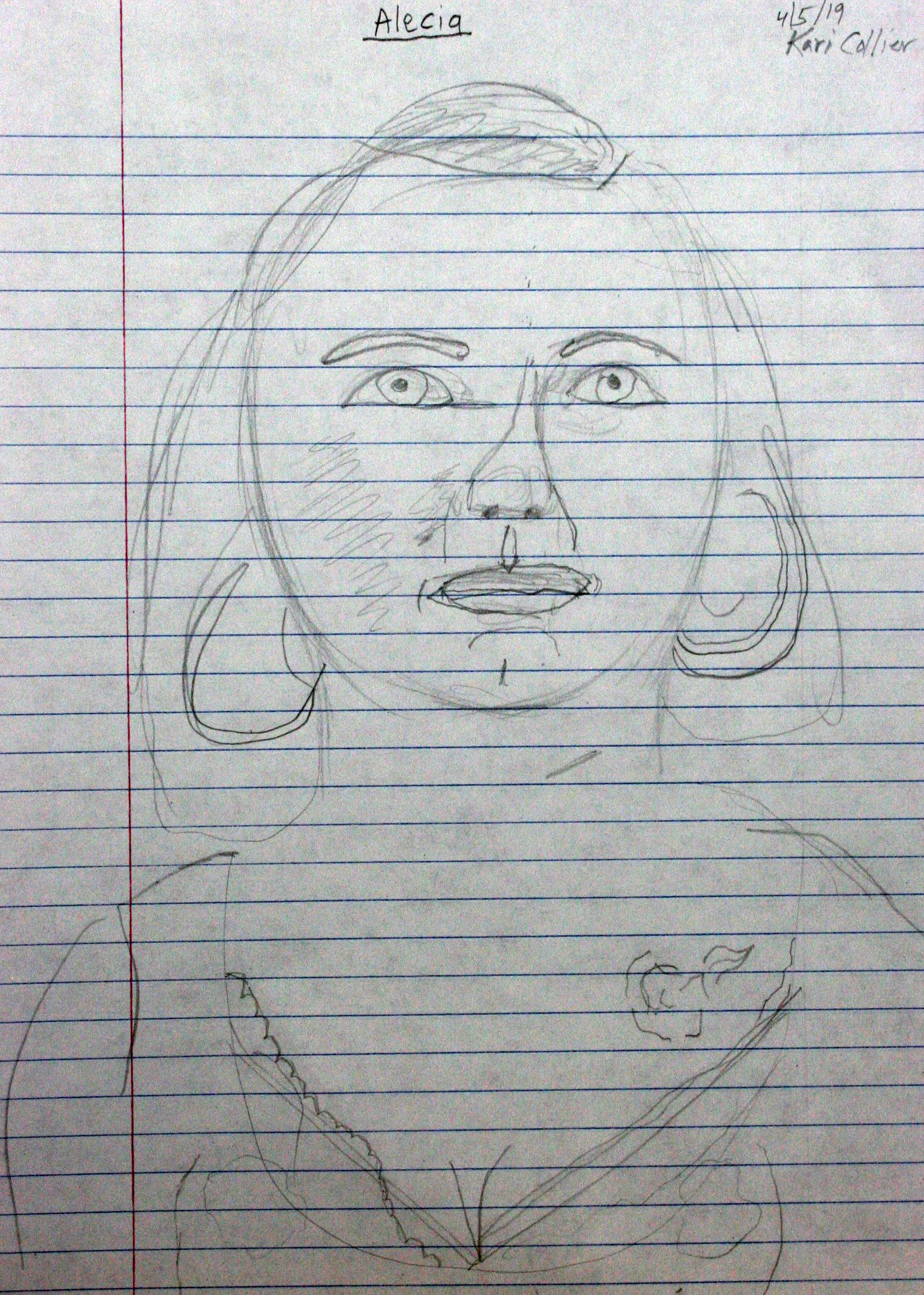 Kari Collier did this drawing.