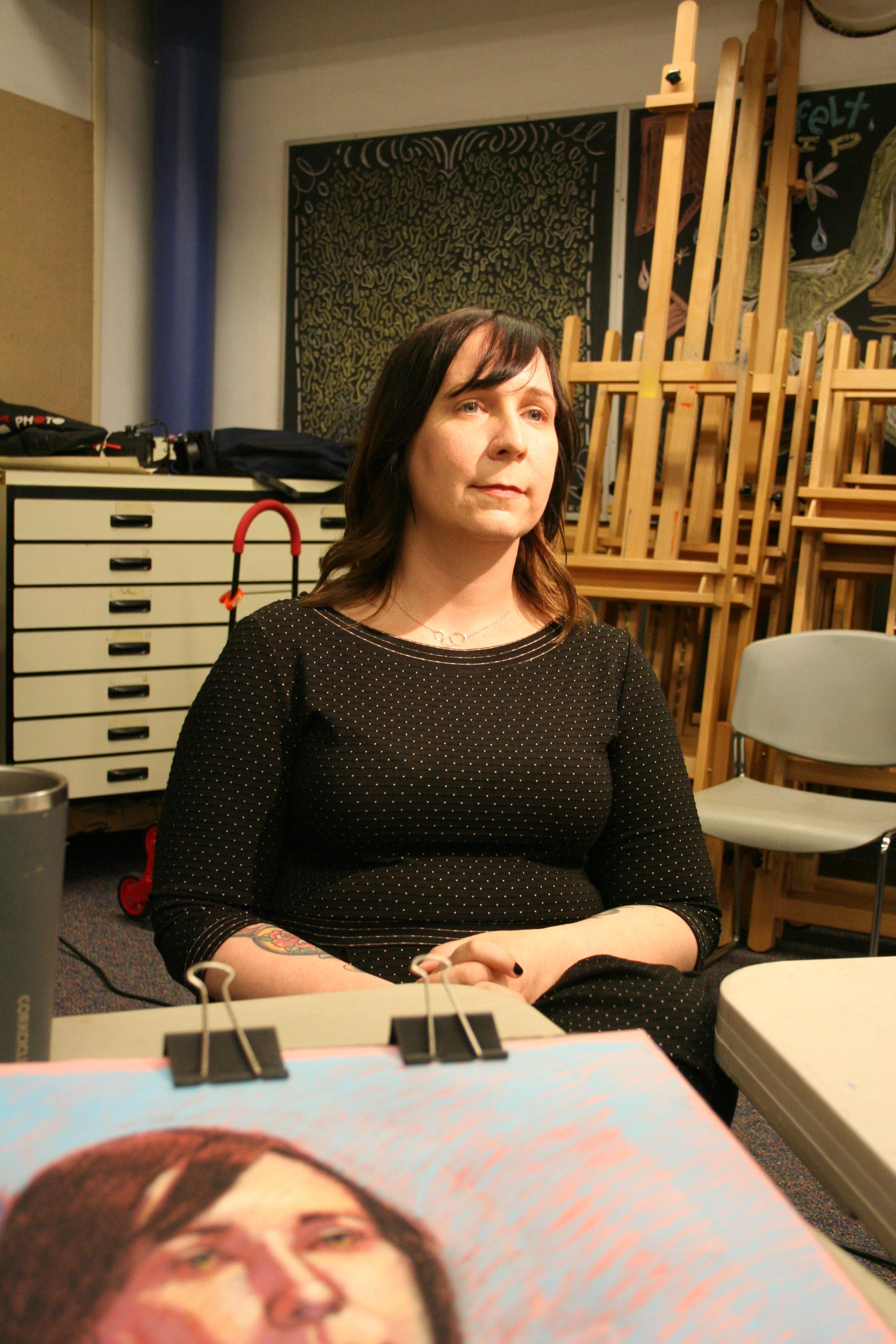Karen Hennessee at Artful Cleveland 6-21-19.JPG