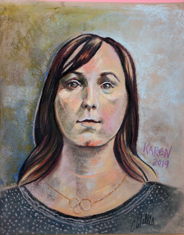 Christine Wallis - pastels