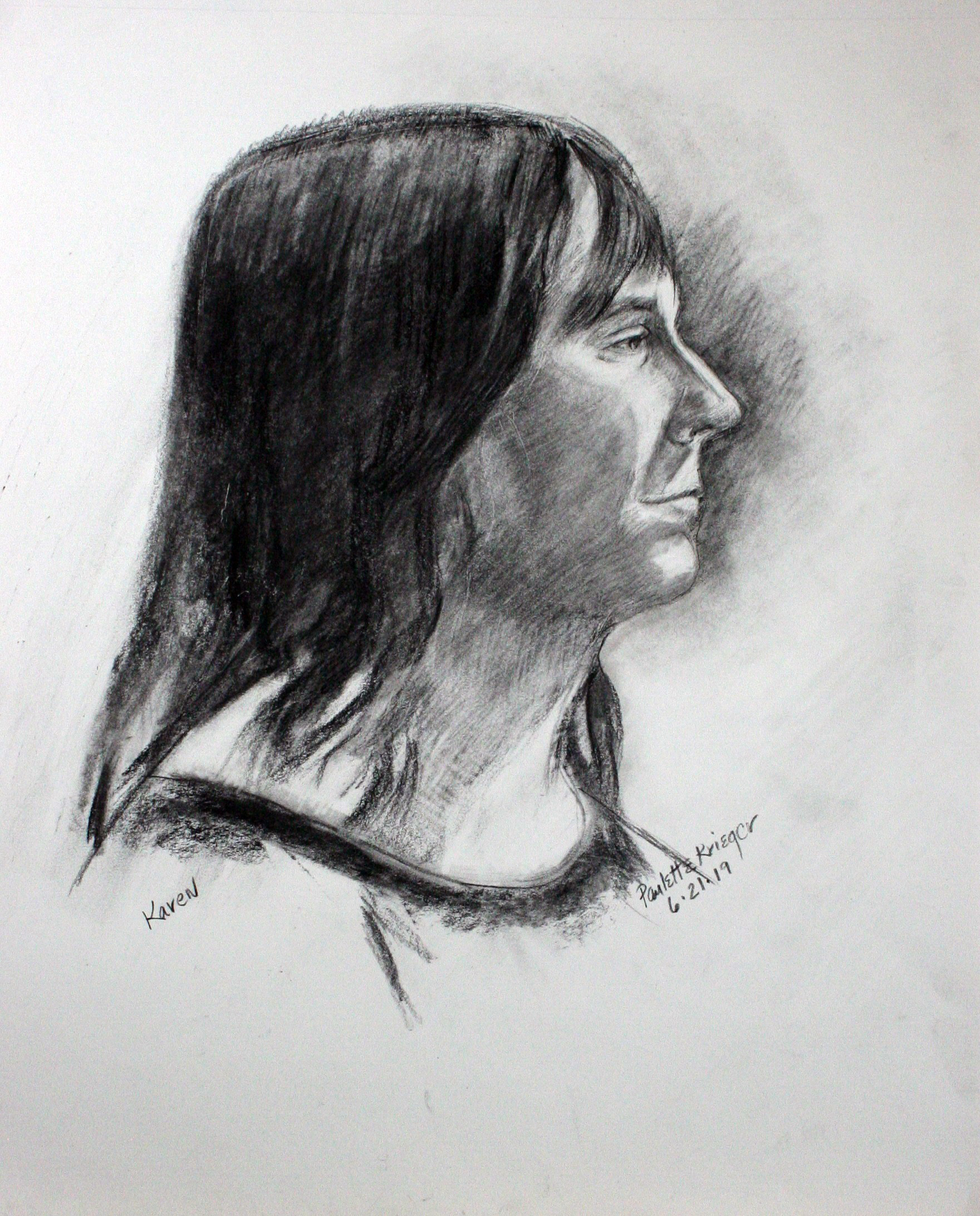 Paulette Krieger - charcoal