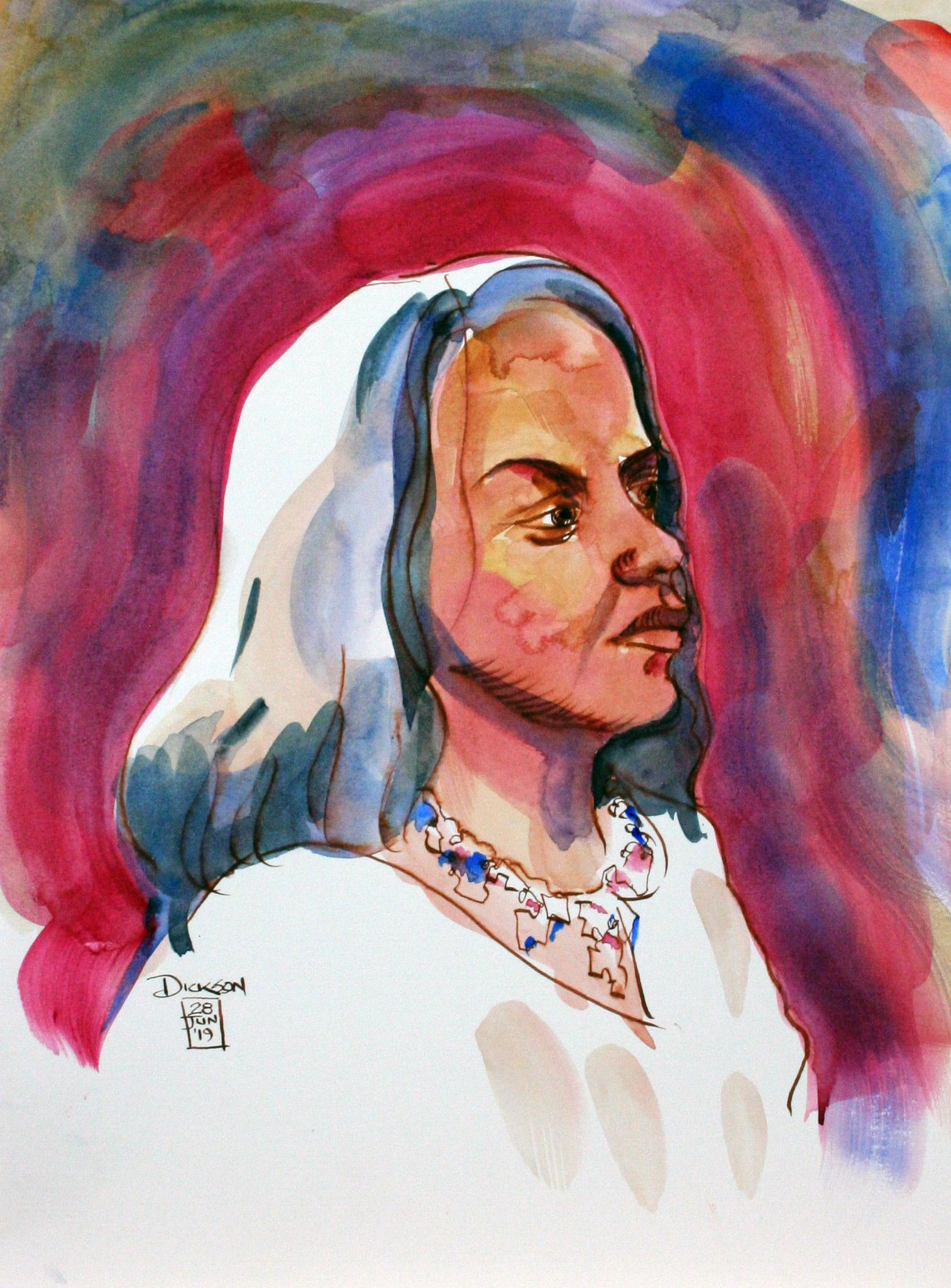 Duane Dickson - watercolors