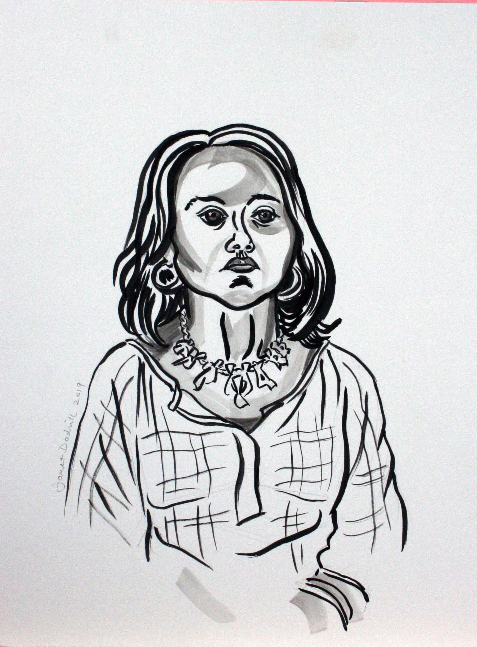 Janet Dodrill - ink