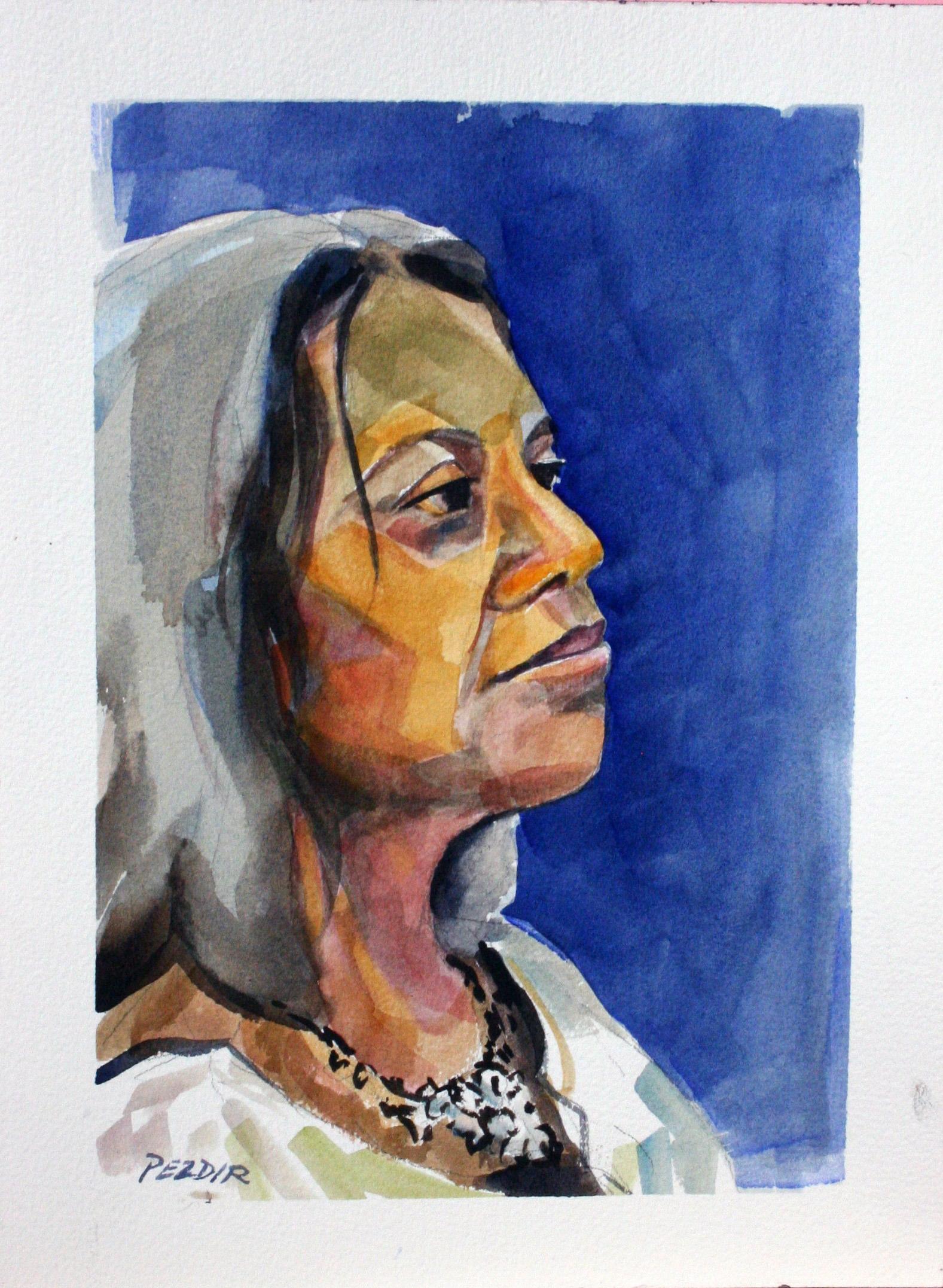 Judy Pezdir - watercolor