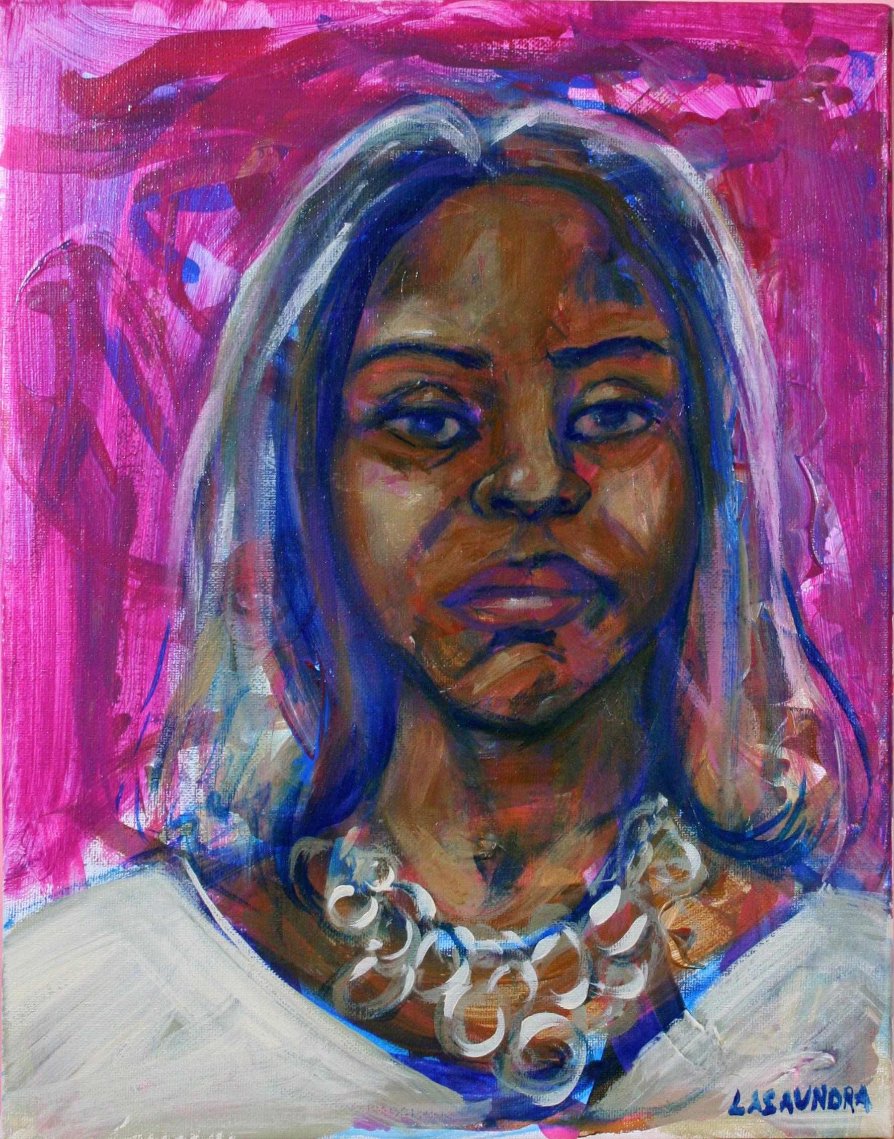 LaShaundra Robinson - acrylics