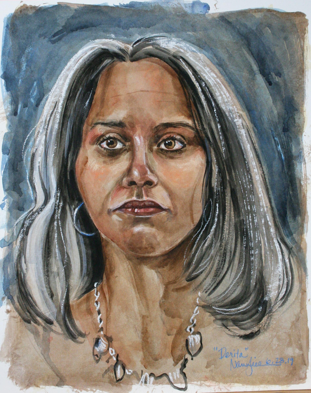 Nancy Lick - watercolors, gouache