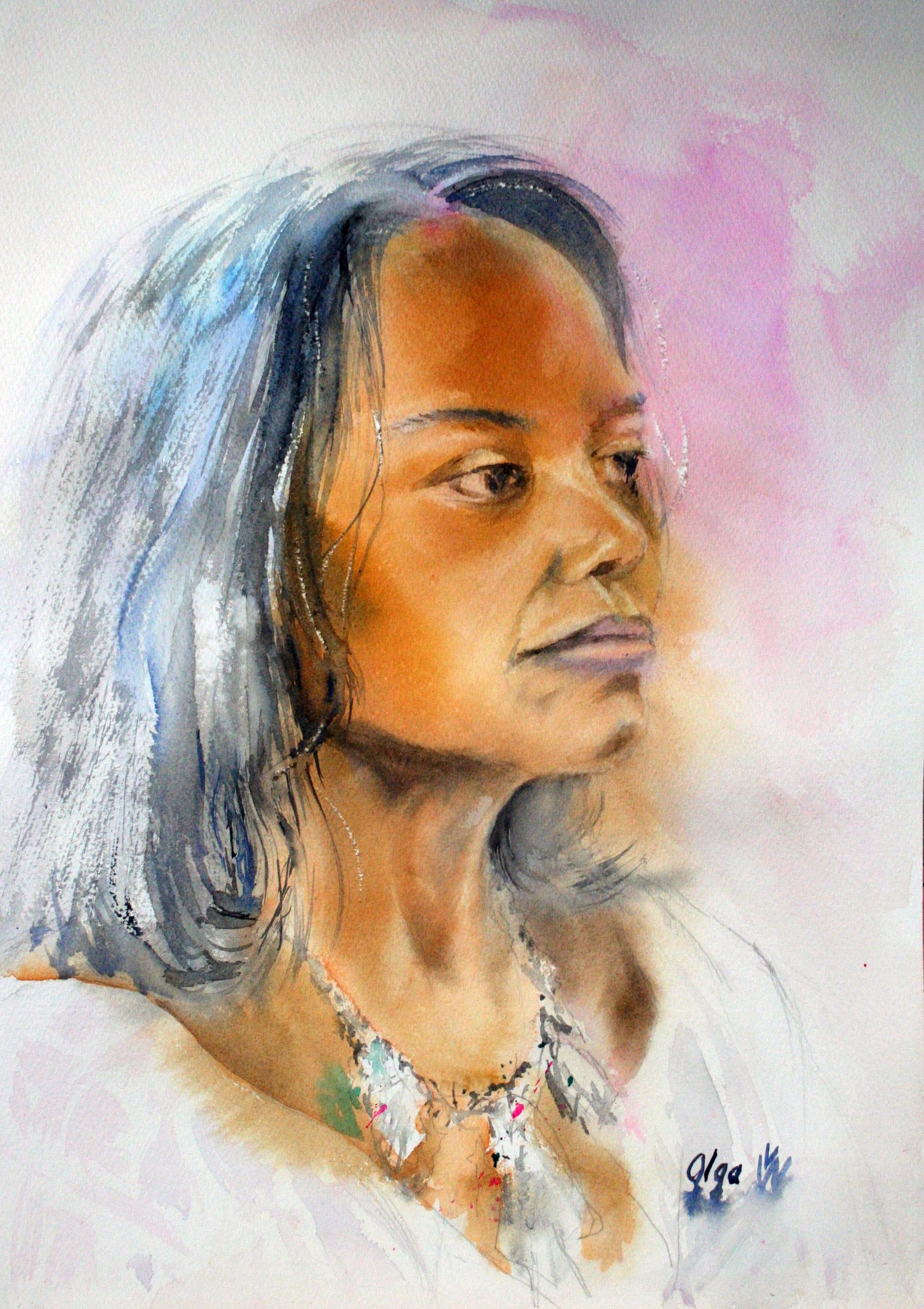 Olga Weinstein - watercolor