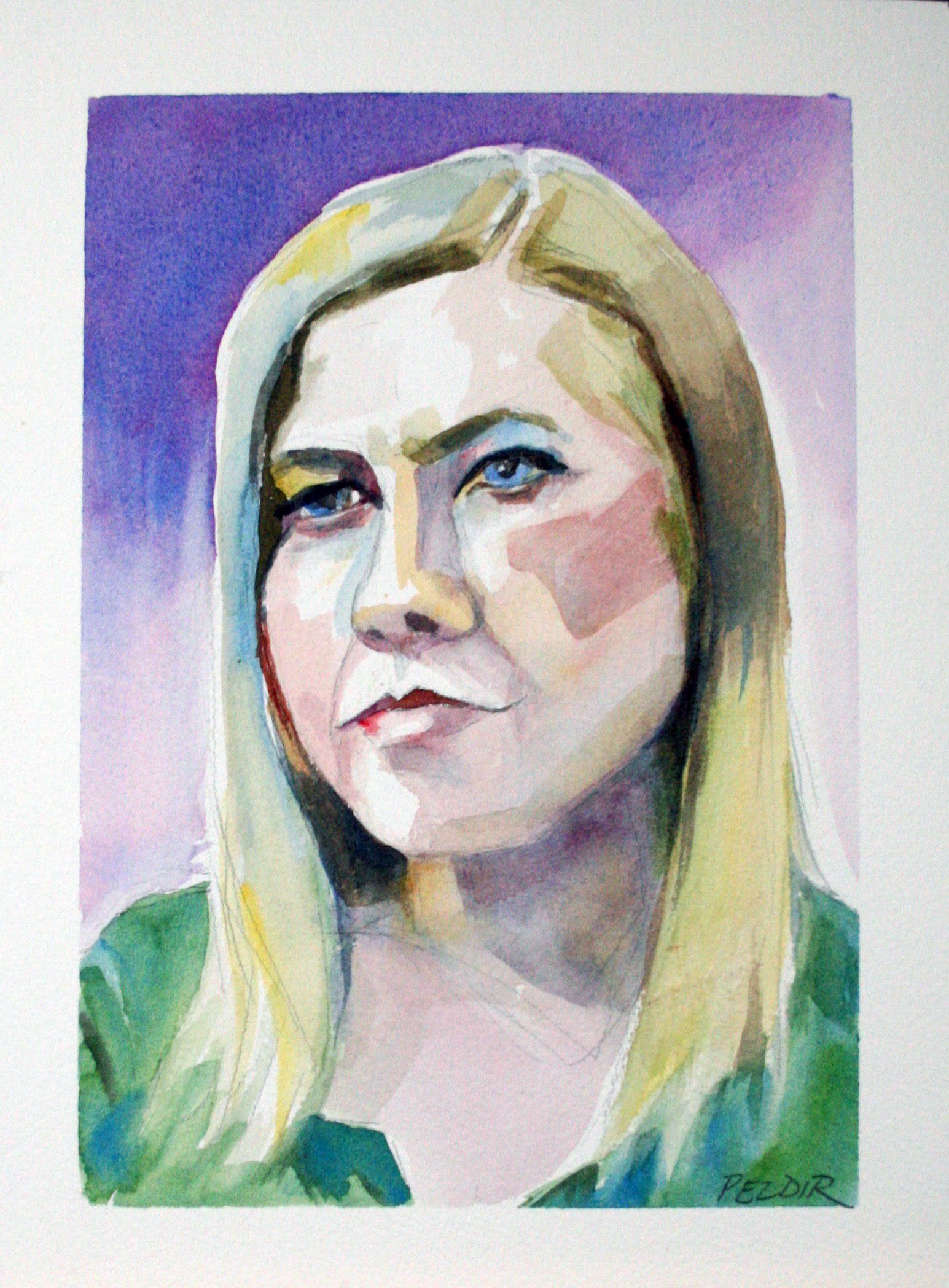Judy Pezdir - Watercolor