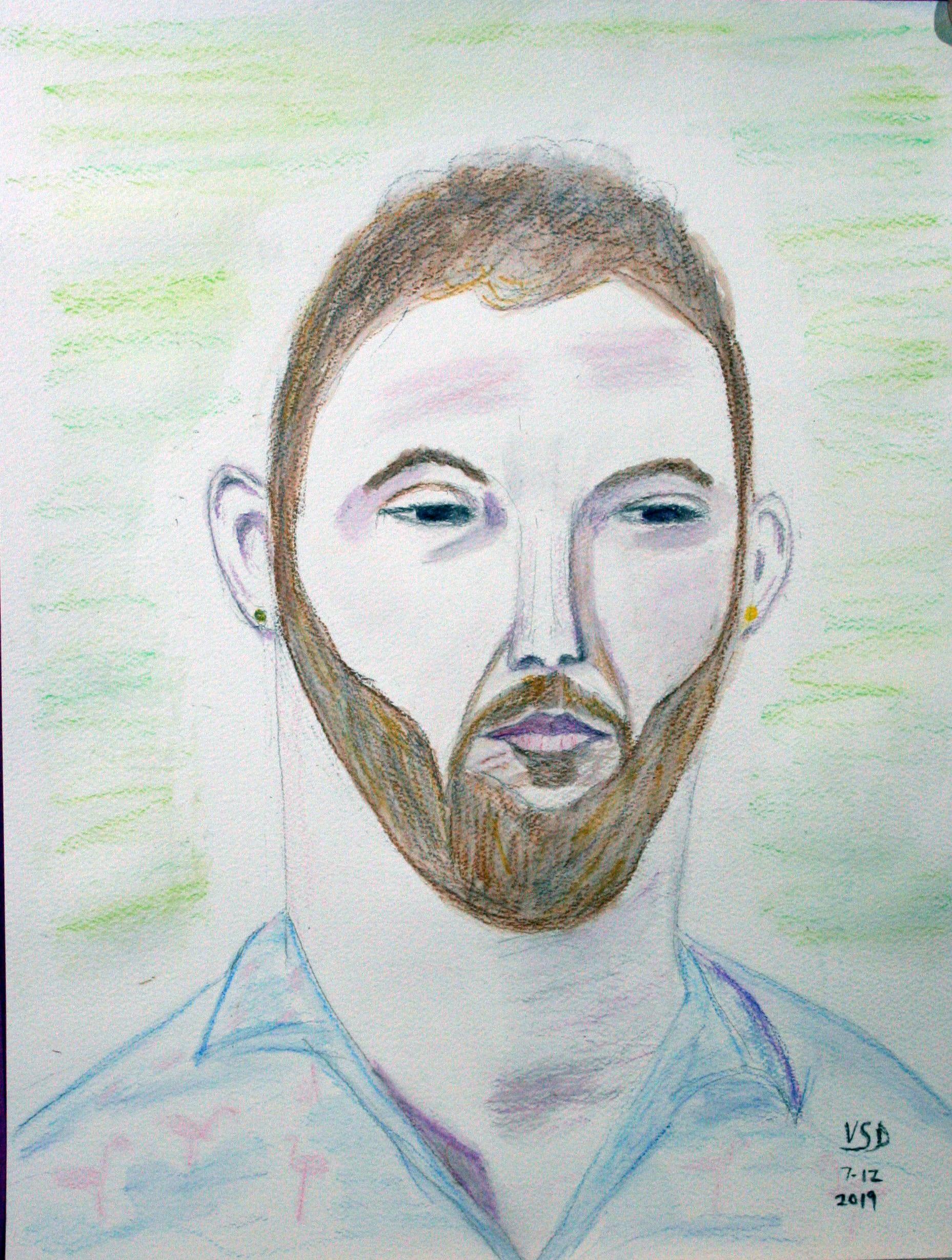 Genny Dickson - pencil and pastel