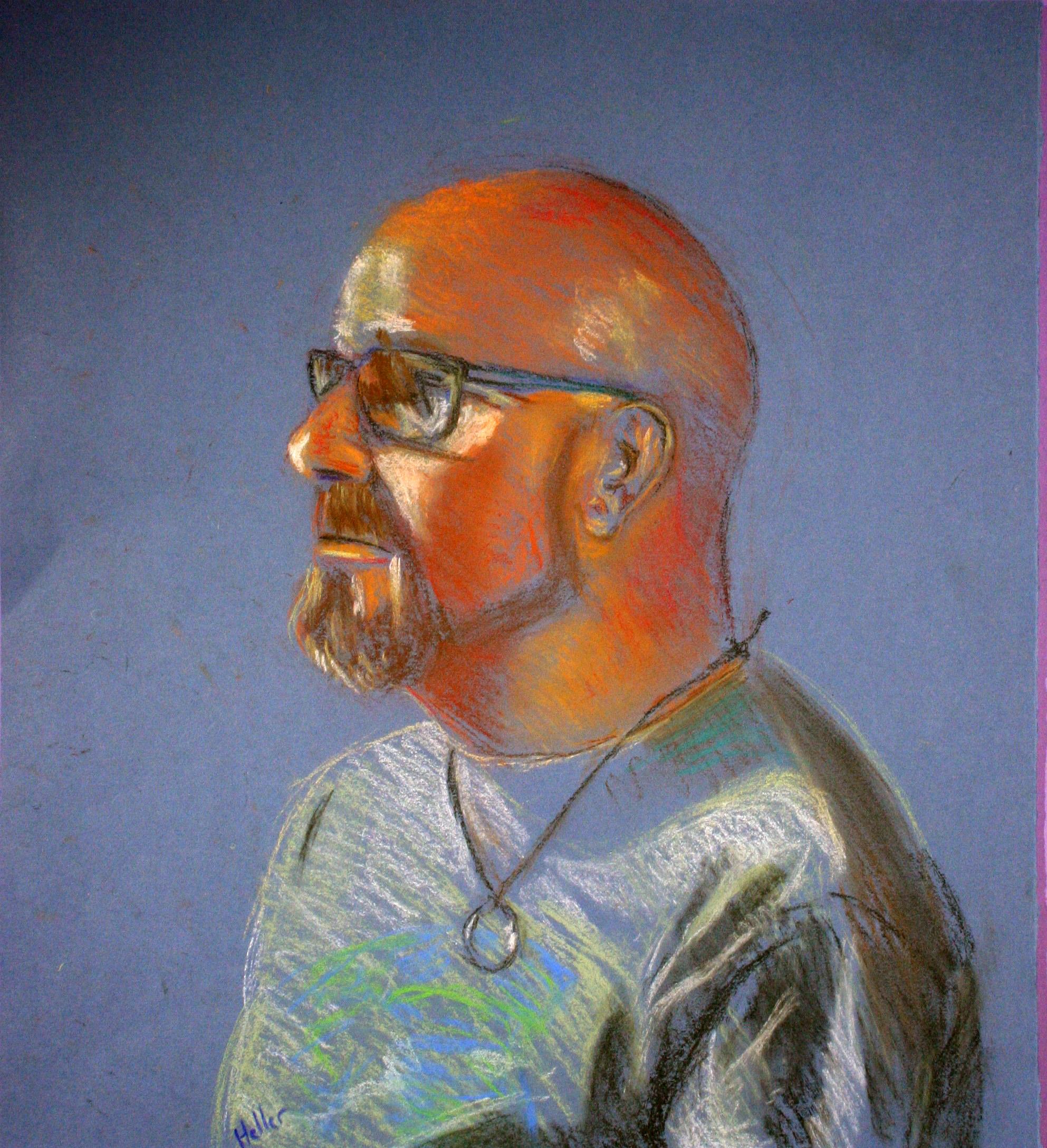 David Heller - Pastel