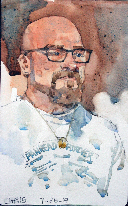 Jeff Suntala -Watercolor