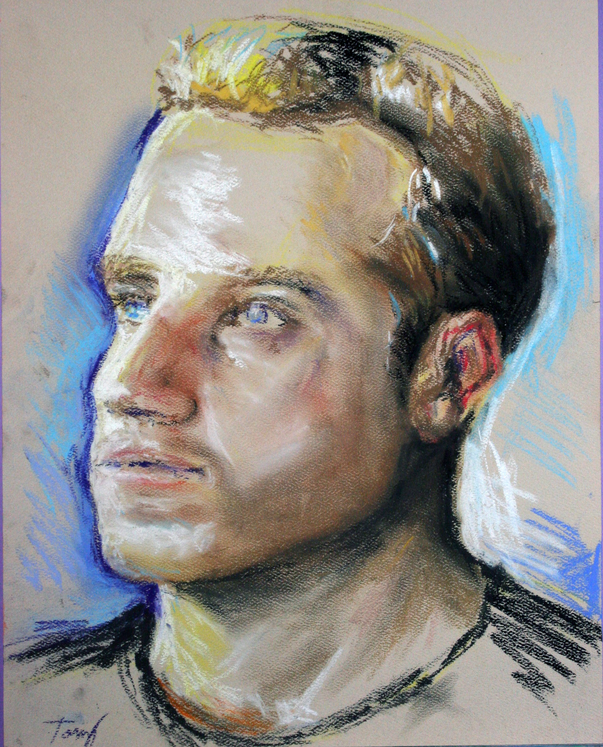 Anthony J. Robinson - pastel